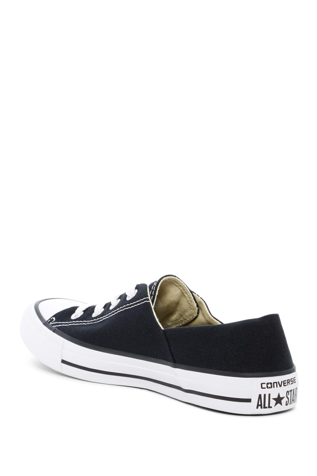 afe405eb1e1 Converse - Black Chuck Taylor All Star Coral Oxford Sneakers (women) -  Lyst. View fullscreen
