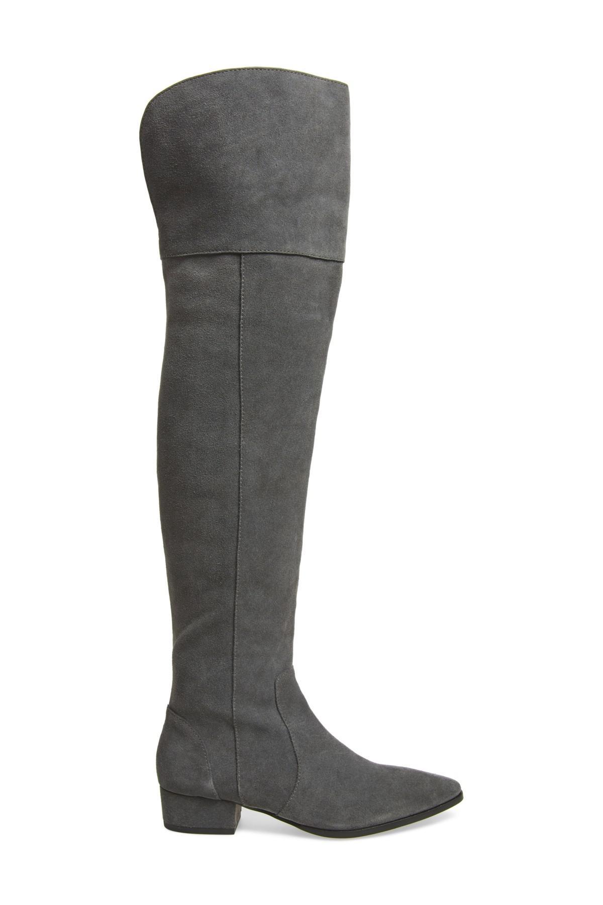dabcb7b179c Lyst - Splendid Ruby Over The Knee Boot (women) in Gray