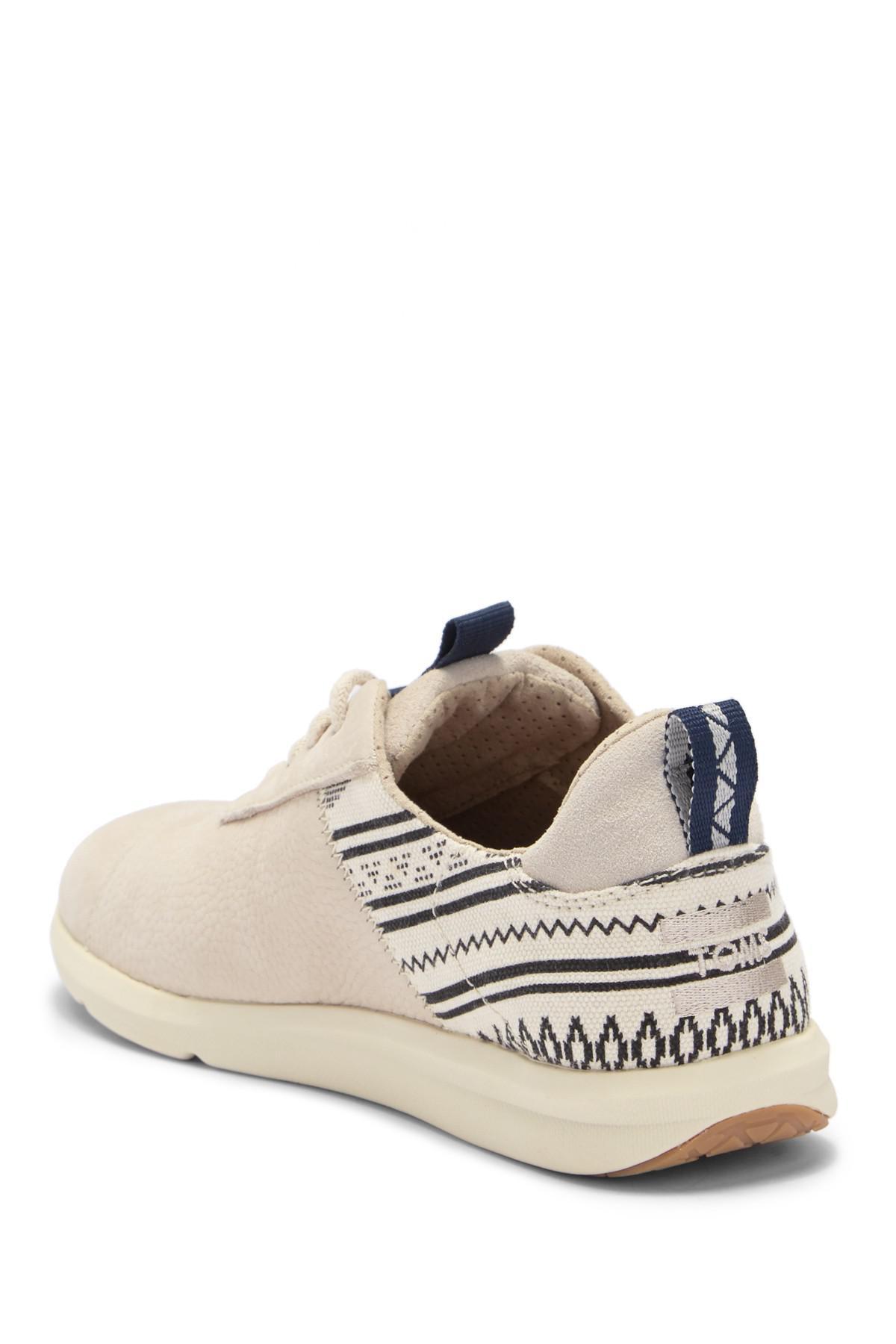 33b6450b7152 TOMS - Multicolor Birch Cabrillo Leather Sneaker - Lyst. View fullscreen