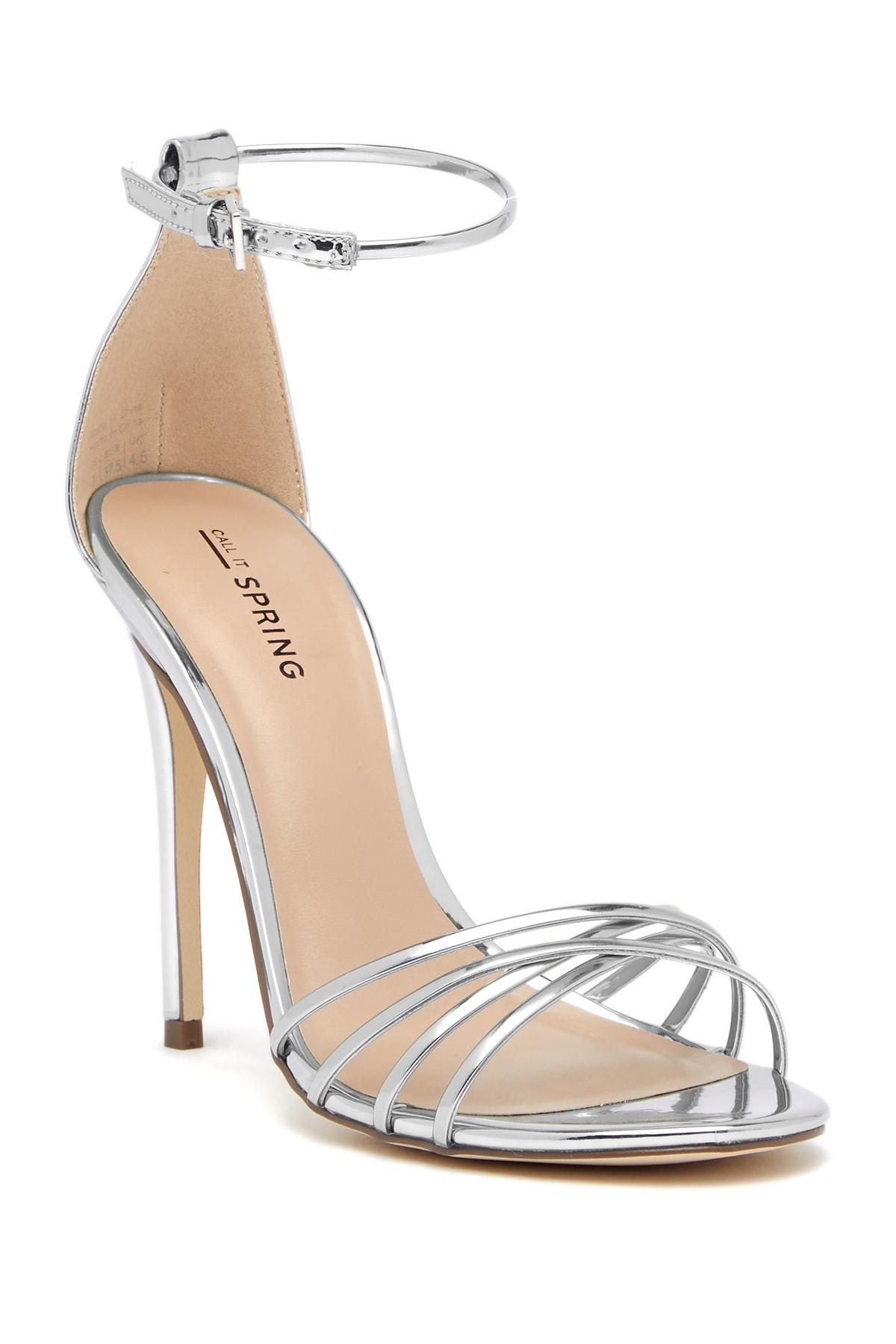 Call it Spring FIWIEN - High heeled sandals - silver aFWmd7
