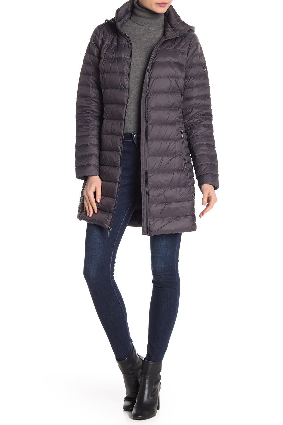 Lyst - MICHAEL Michael Kors Mizzy Zip Front Quilted Pack..
