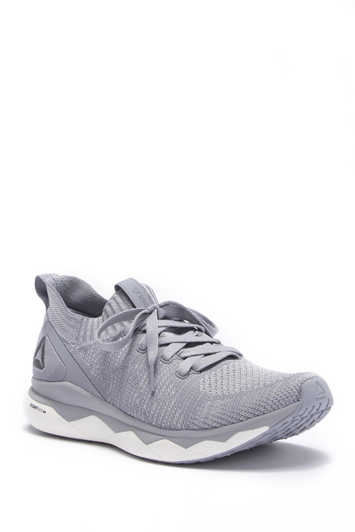27d56593ef5 Reebok Floatride Rs Ultraknit Running Sneaker in Gray for Men - Lyst