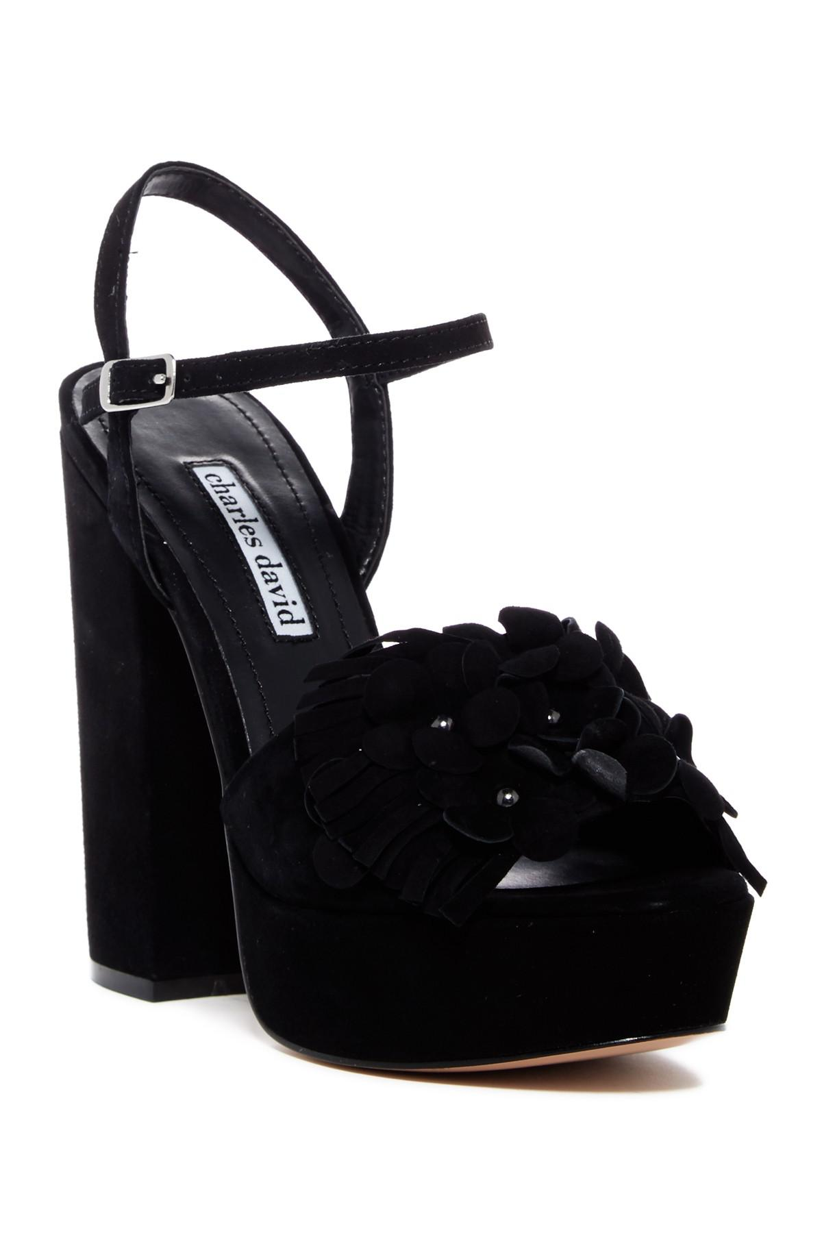 Charles David Royal Platform Sandal