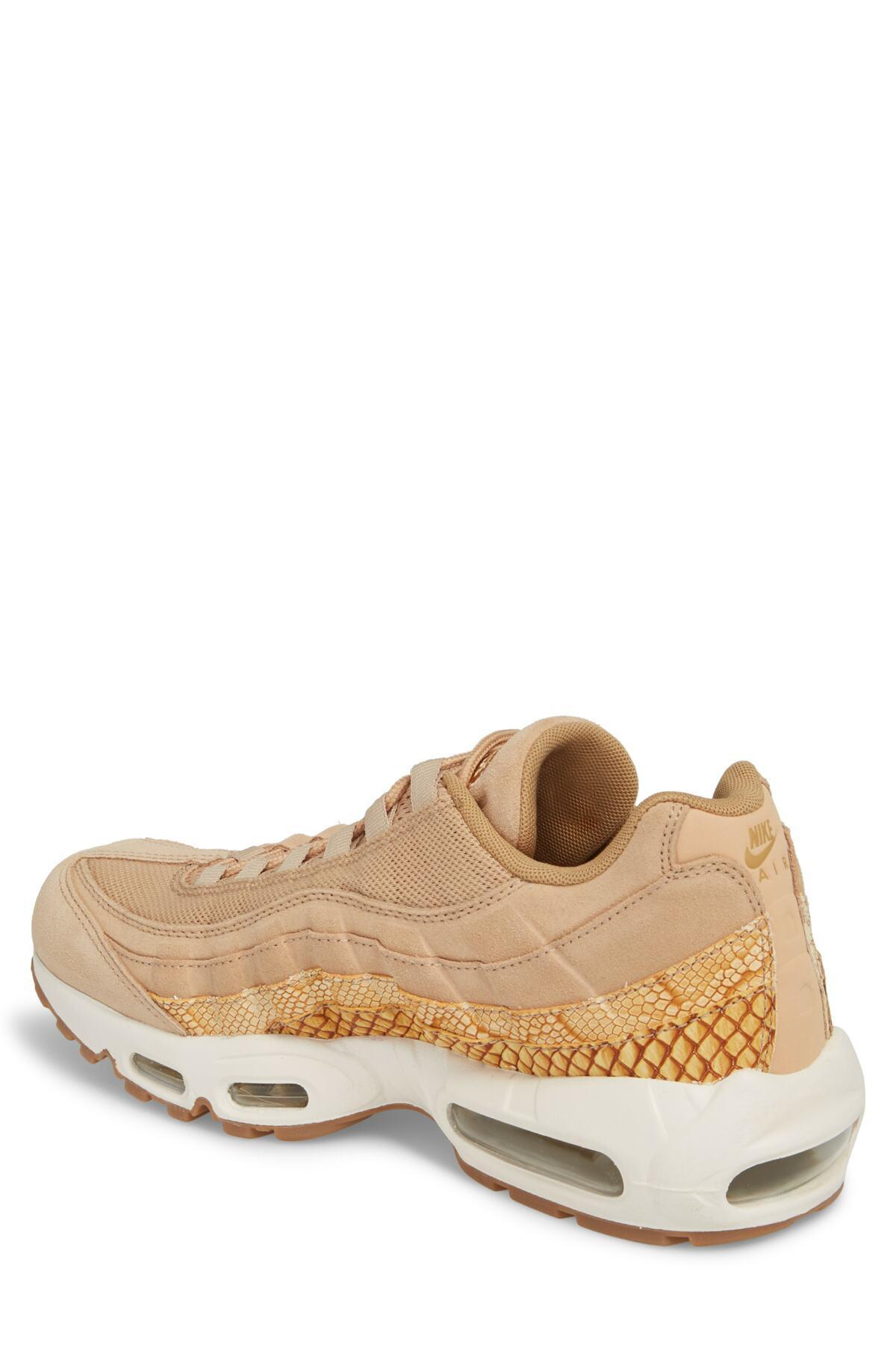 free shipping 72db5 78e96 Nike - Brown Air Max 95 Premium Se Sneaker (men) for Men - Lyst. View  fullscreen