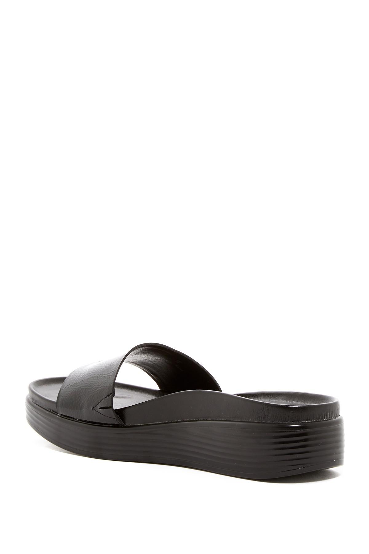 f6a922132e8 Lyst - Donald J Pliner Fiji Platform Hidden Thong Sandal in Black