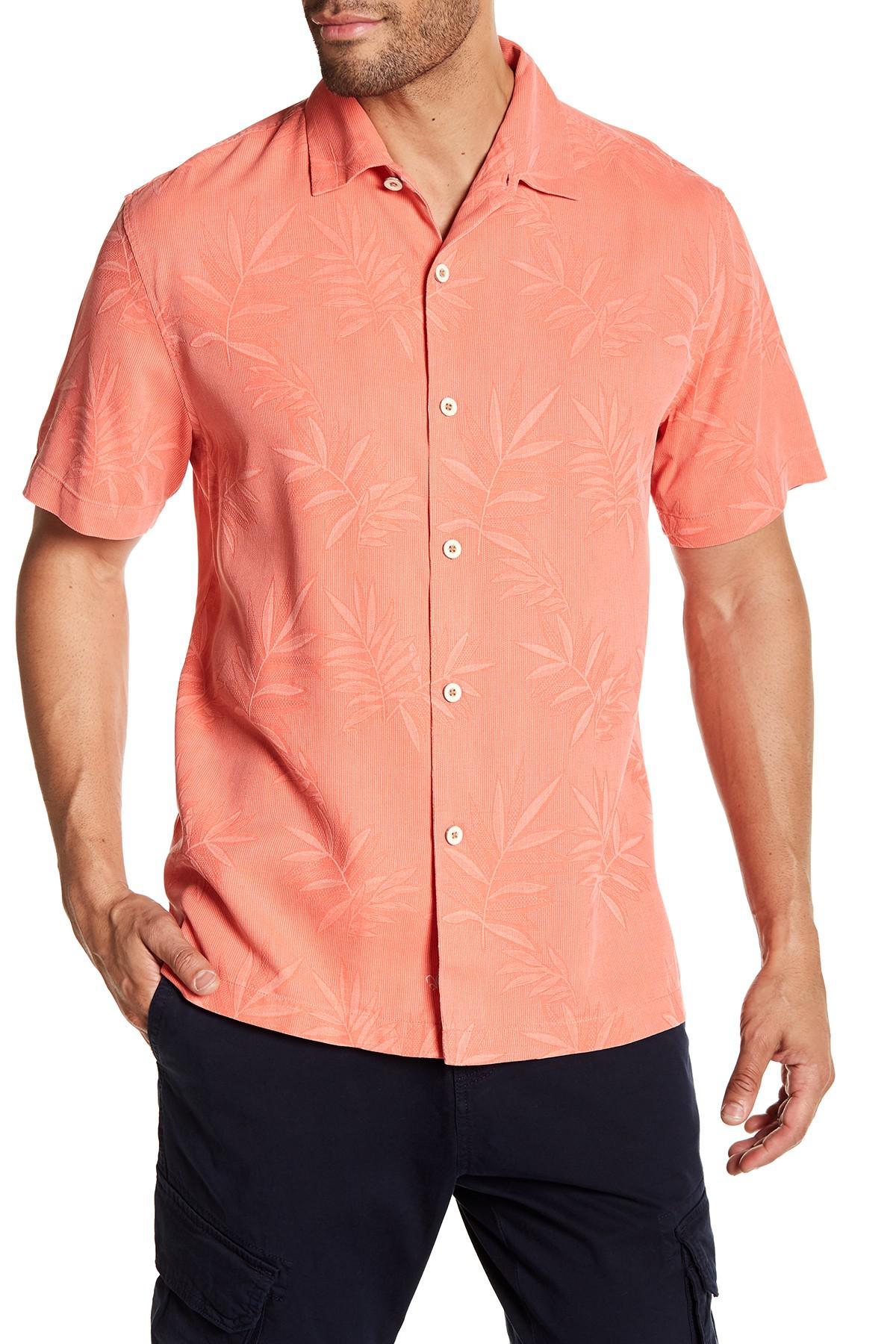 856f406d Lyst - Tommy Bahama Luau Floral Silk Shirt for Men