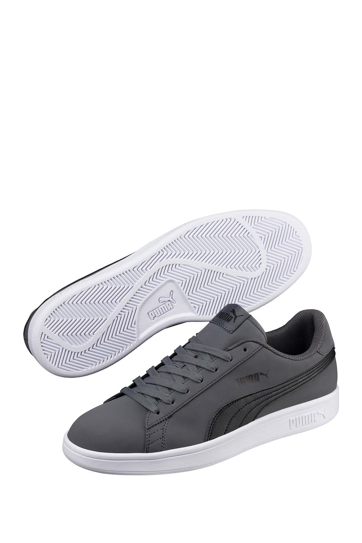 Lyst - Puma Smash V2 Buck Sneaker in Gray for Men c5b22354a