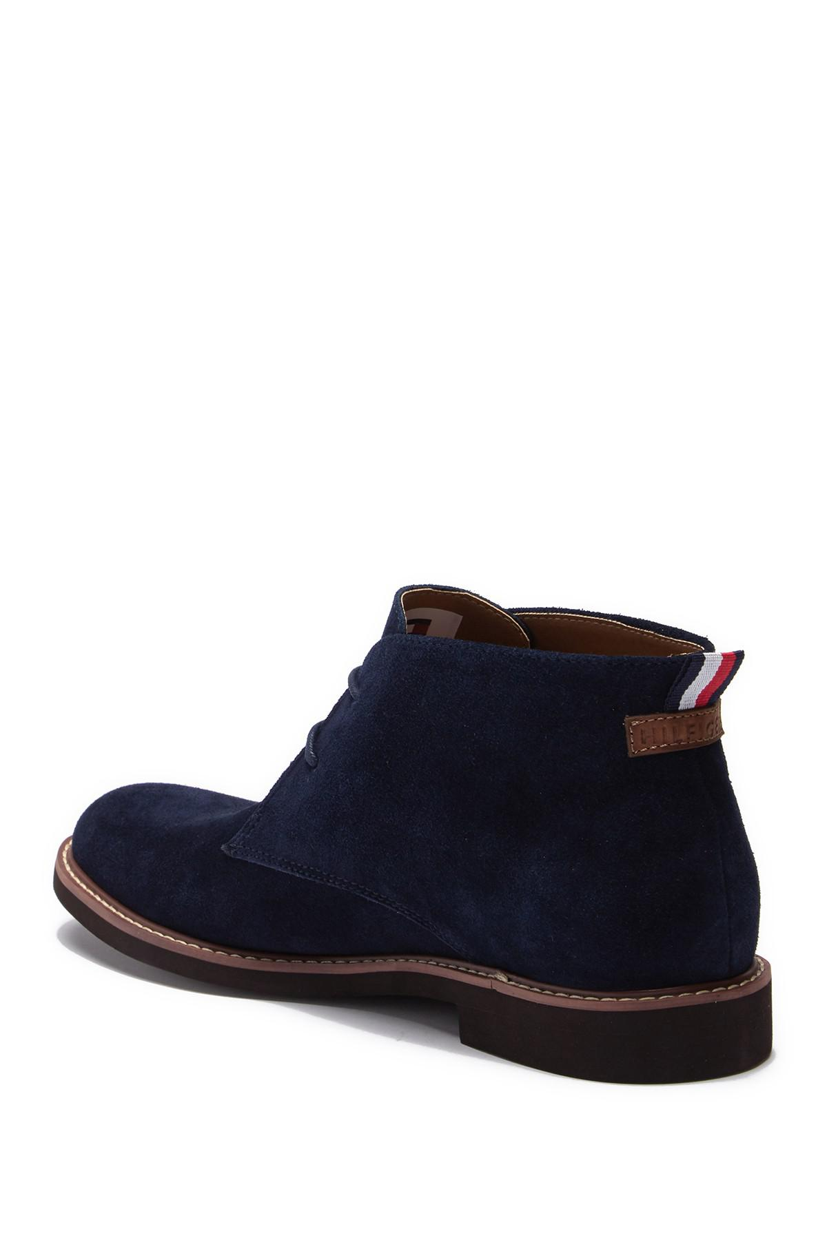 6b5bd36f5 Tommy Hilfiger - Blue Gervis Suede Lace-up Boot for Men - Lyst. View  fullscreen