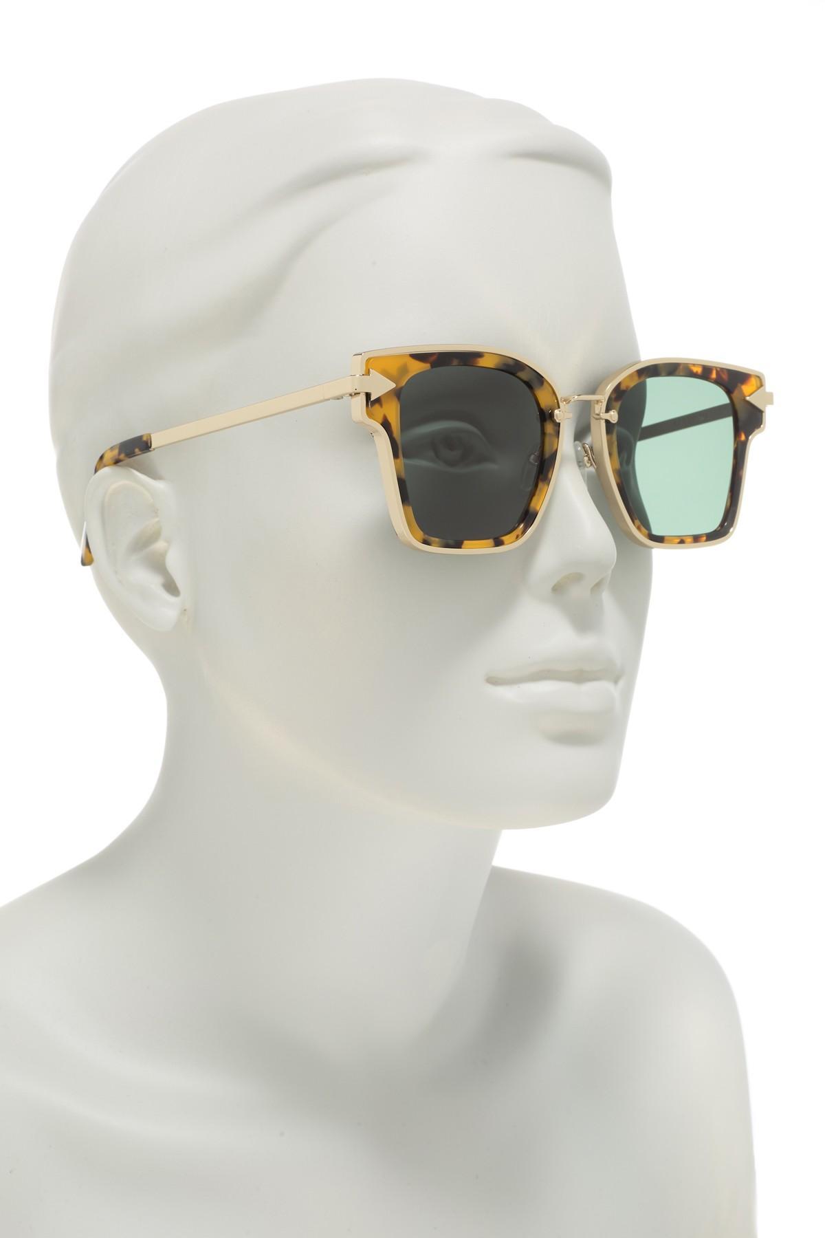 cf9abf7d864 Karen Walker - Multicolor Rebellion 49mm Sunglasses - Lyst. View fullscreen