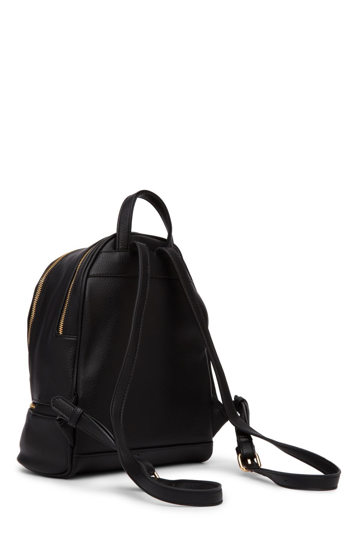 8ffdb5991b Lyst - Urban Expressions Ashleigh Vegan Leather Backpack in Black