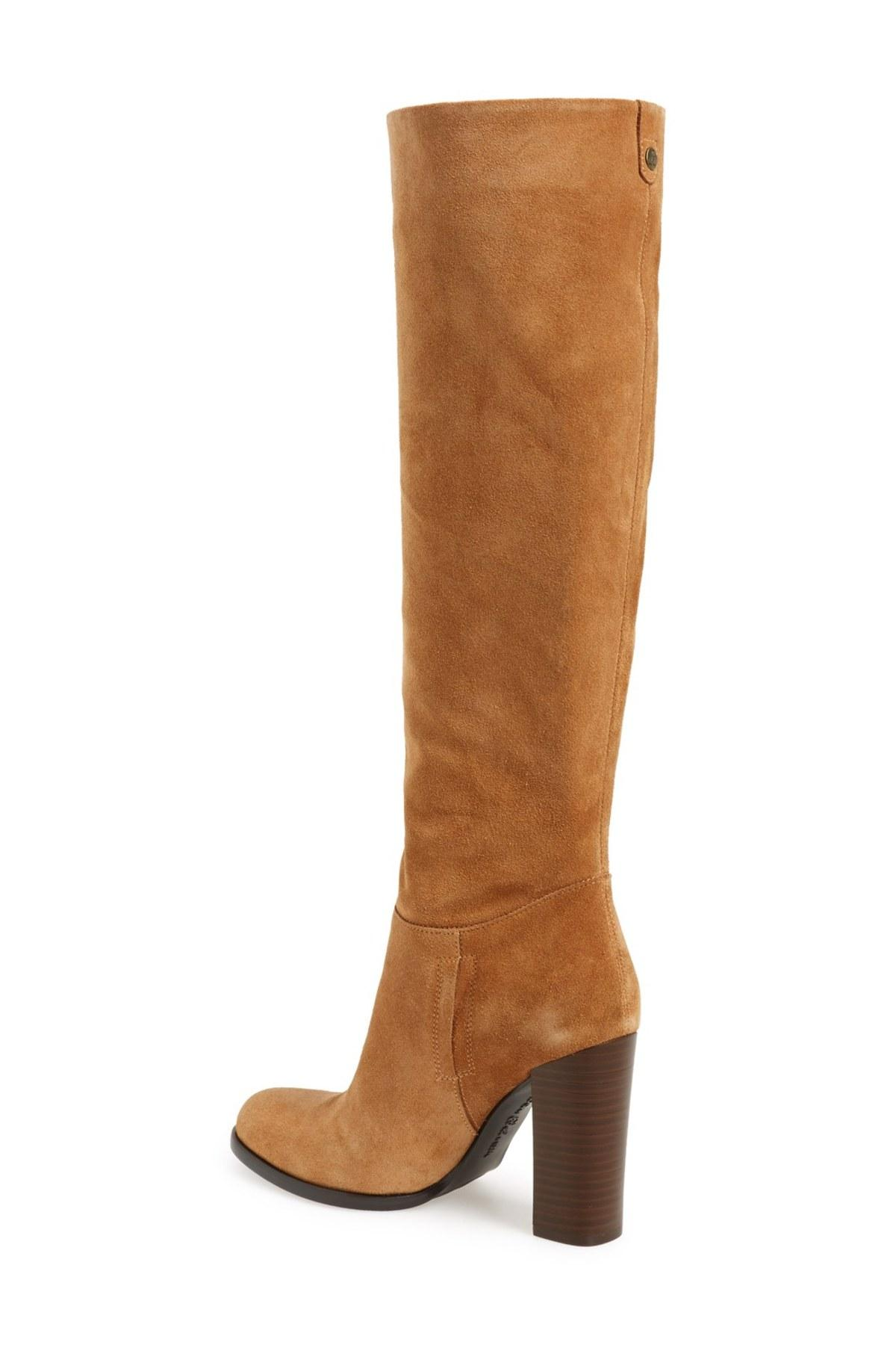 a2592845f52ccc Lyst - Sam Edelman Victoria Slouch Boot