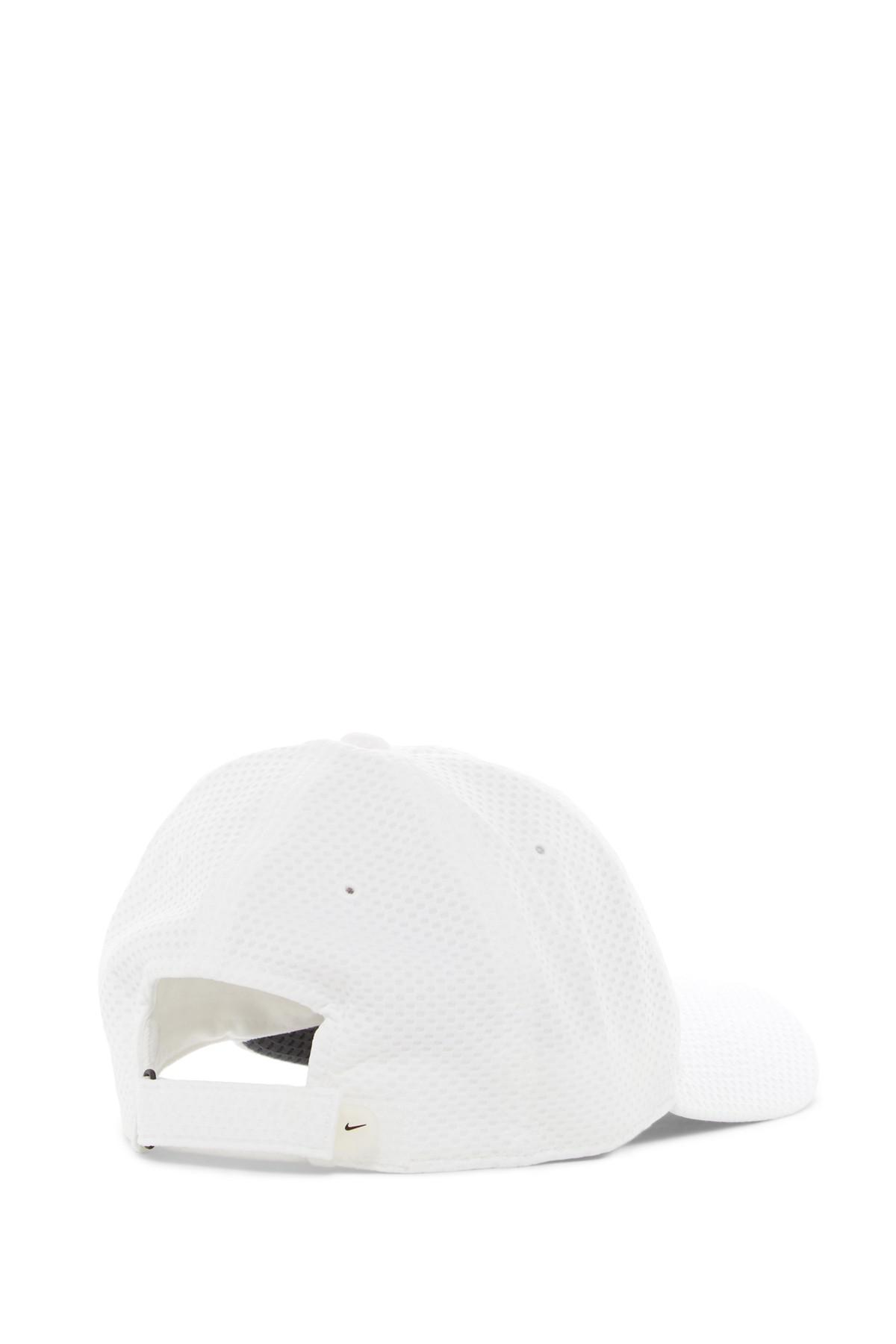 e600f8515a0 ... new zealand lyst nike tailwind 6 panel drifit cap in white for men  68195 448b7