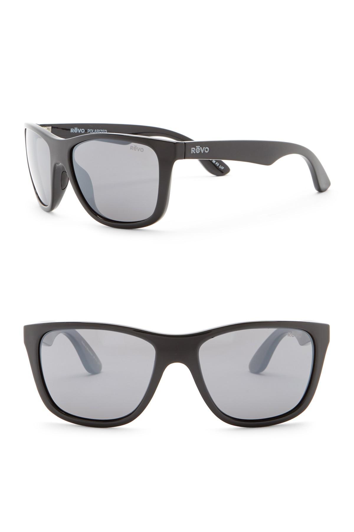 07f22de6a3 Lyst - Revo Otis Polarized 58mm Square Sunglasses in Black for Men