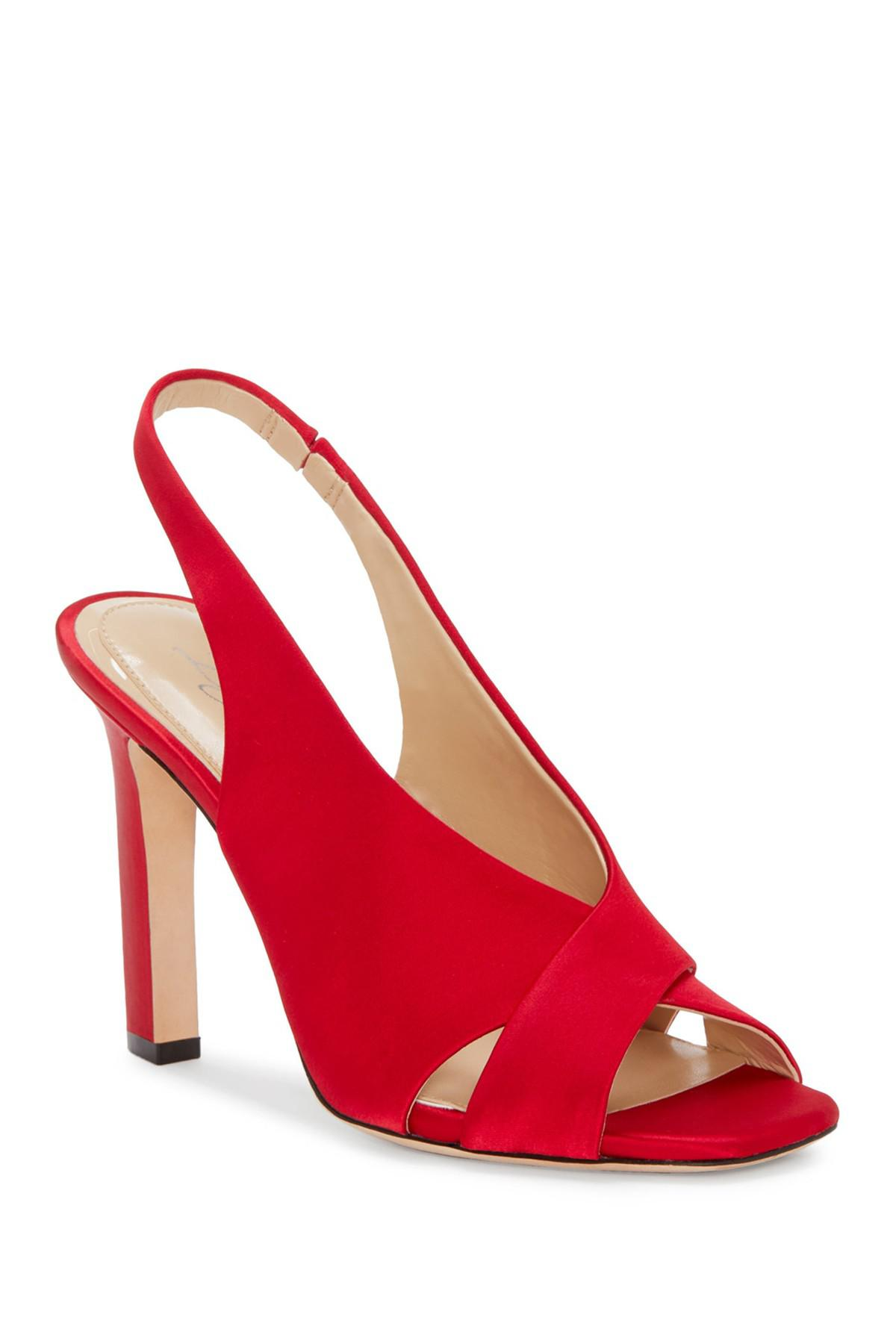 8cd19b38fad Lyst - Imagine Vince Camuto Wrennie Slingback Sandal in Red