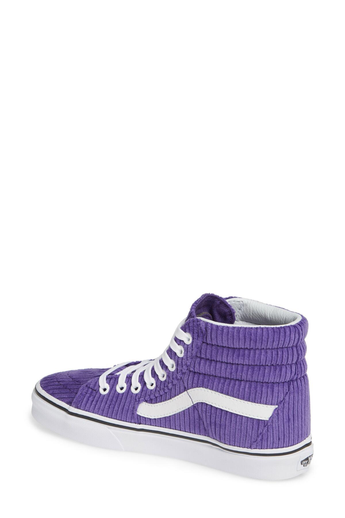 d2b6c7b0f8 Lyst - Vans Ua Sk8-hi Design Assembly Sneaker (women) in Purple