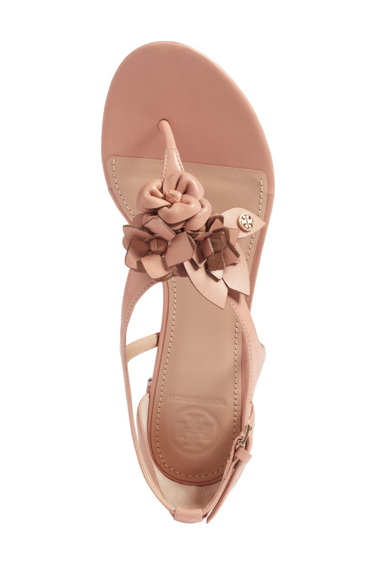 632ef6c7b953b2 Lyst - Tory Burch Blossom Sandal