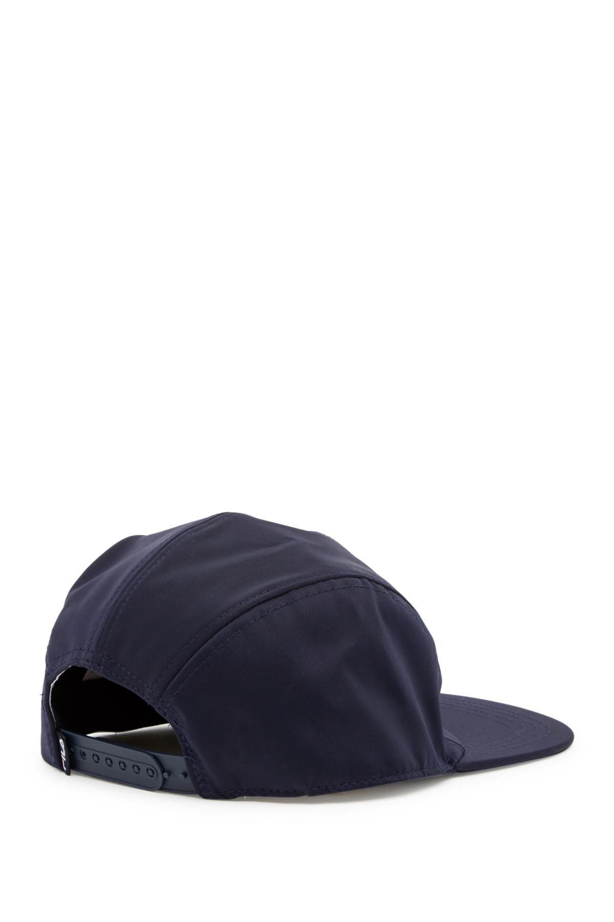 458abfdd909 Lyst - Fila Heritage Neoprene 5 Panel Camper Hat in Blue for Men