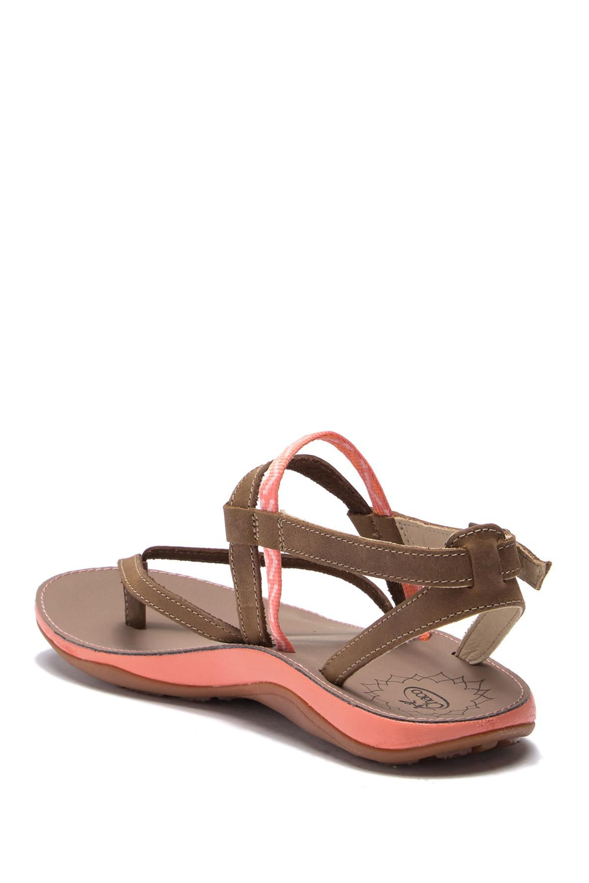 adeef77657036 Lyst - Chaco Loveland Leather Sandal in Brown