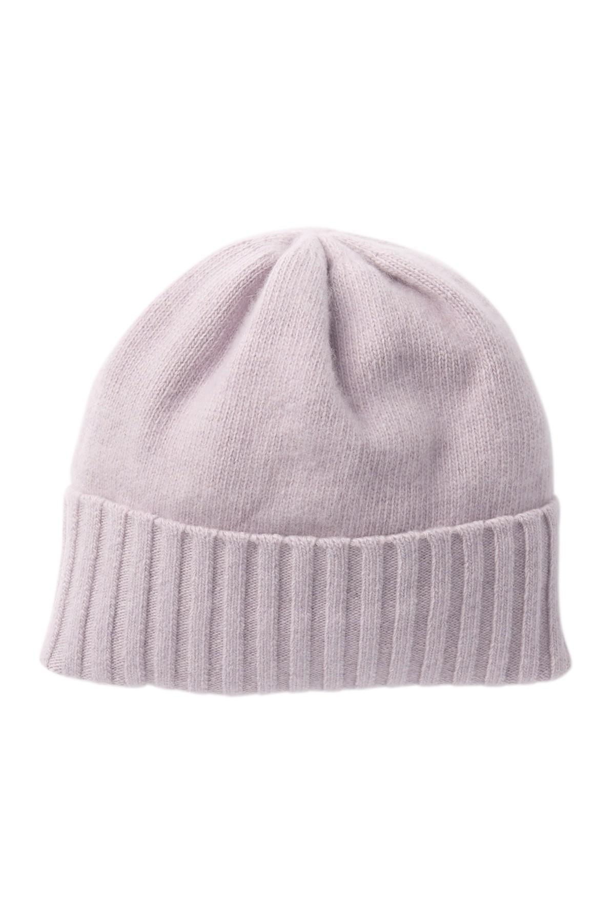 daca99cd038 Portolano. Women s Purple Cashmere Wide Rib Cuff Hat.  95  40 From Nordstrom  Rack
