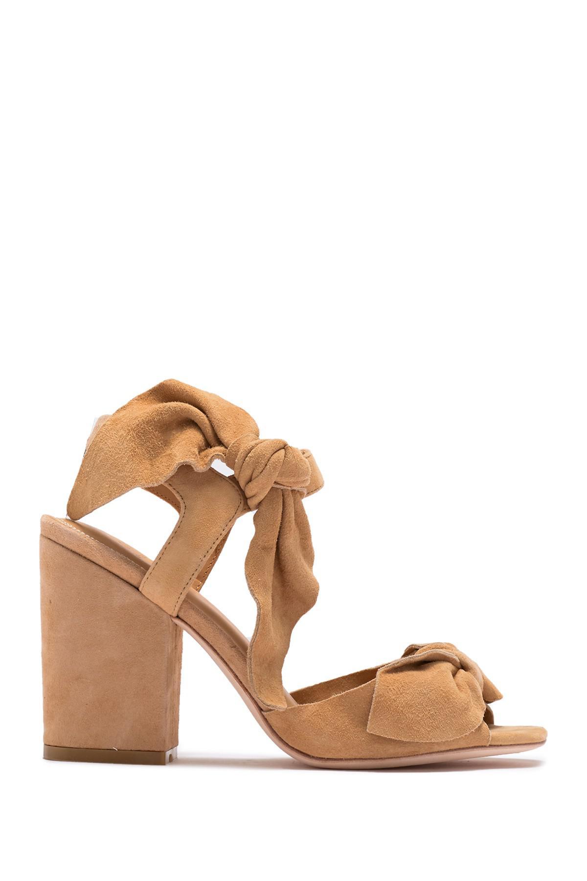 Cheap Sale Pick A Best Clearance Fake Bill Blass Carmen 90 Block Heel Sandal(Women's) -White Denim 15YoSyT