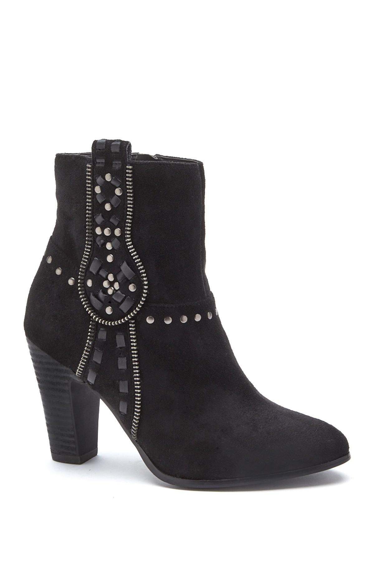 Matisse Deco Faux Suede Studded Bootie S1R86X