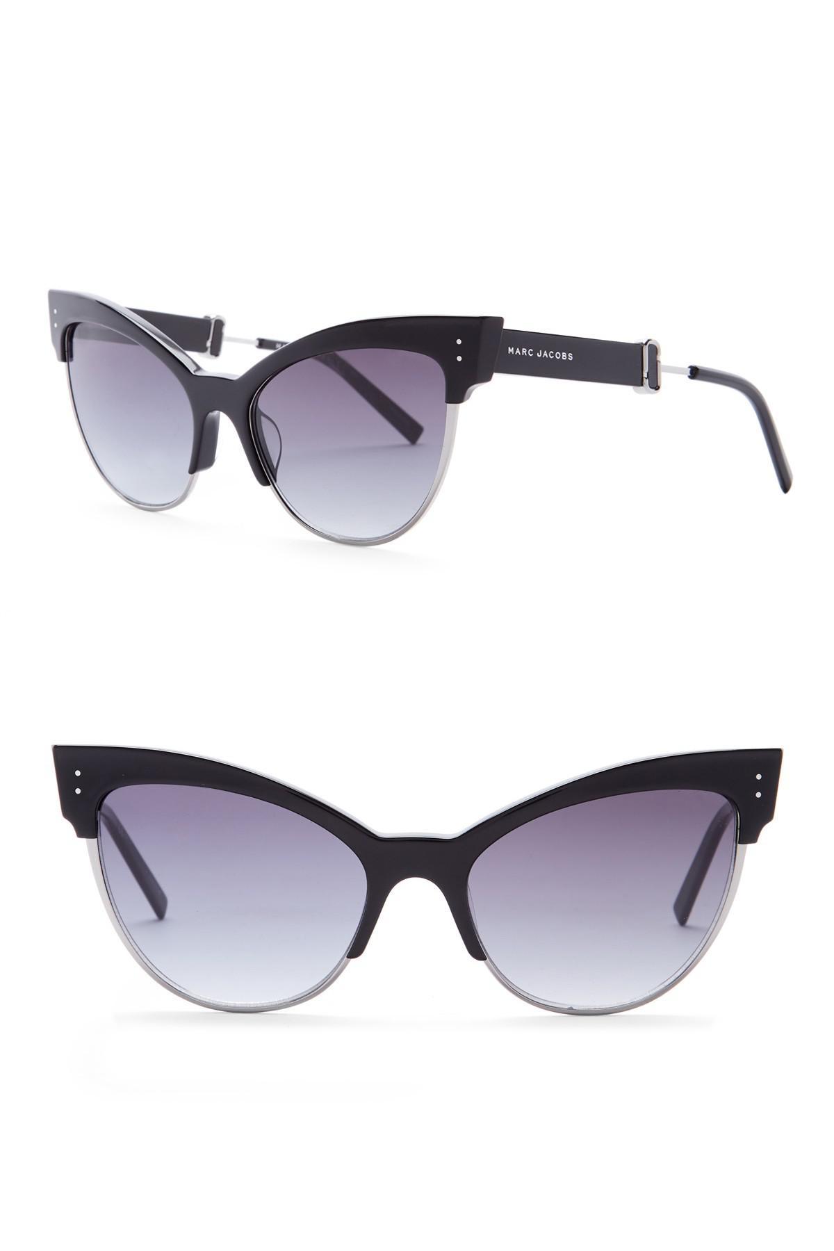 7c35793ef37 Lyst - Marc Jacobs Women s 55mm Cat Eye Sunglasses