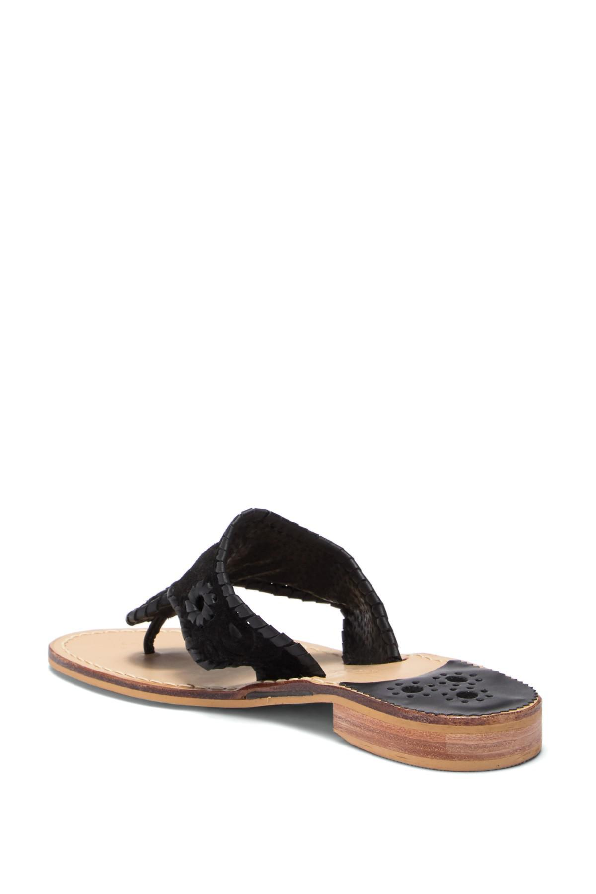 Jack Rogers Cloque Couture Thong Sandal fmY7m