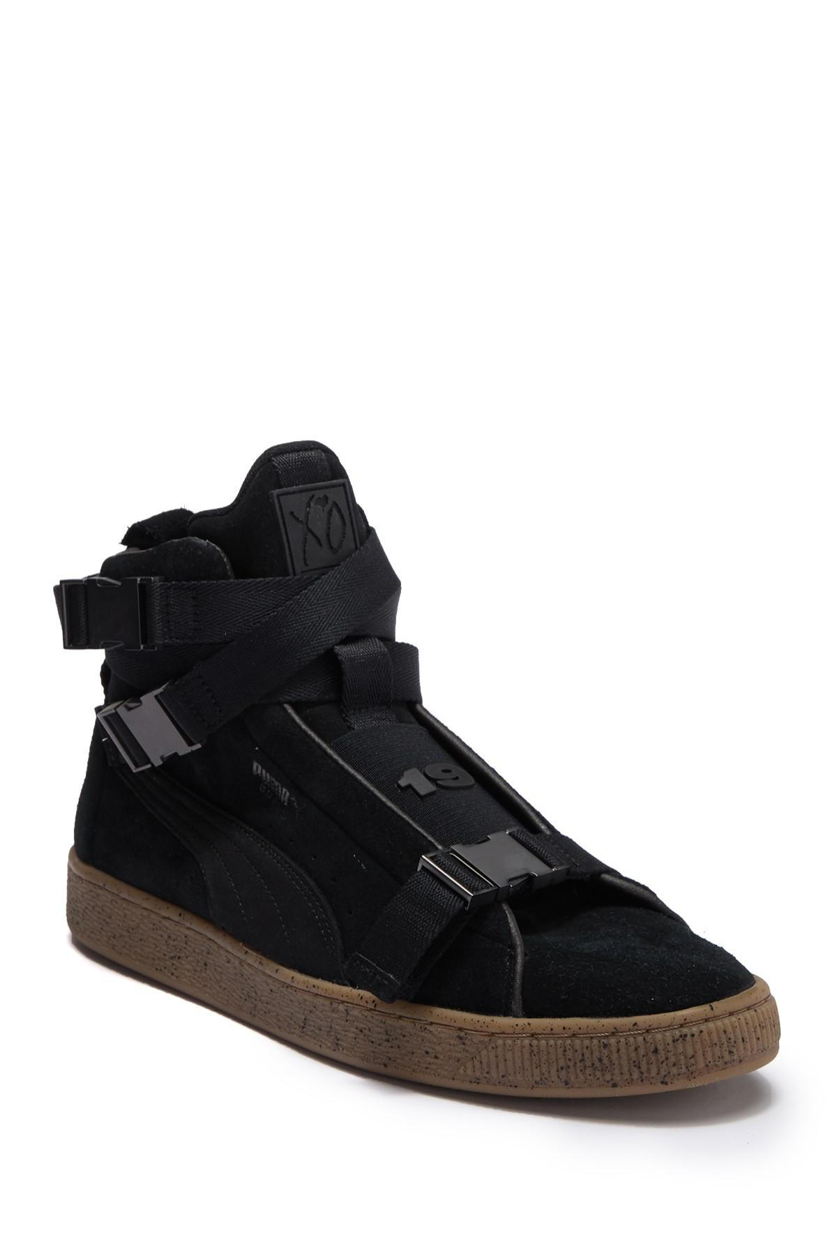 3c2b5837c5b88d Lyst - PUMA Suede Classic X The Weeknd High Top Sneaker in Black for Men