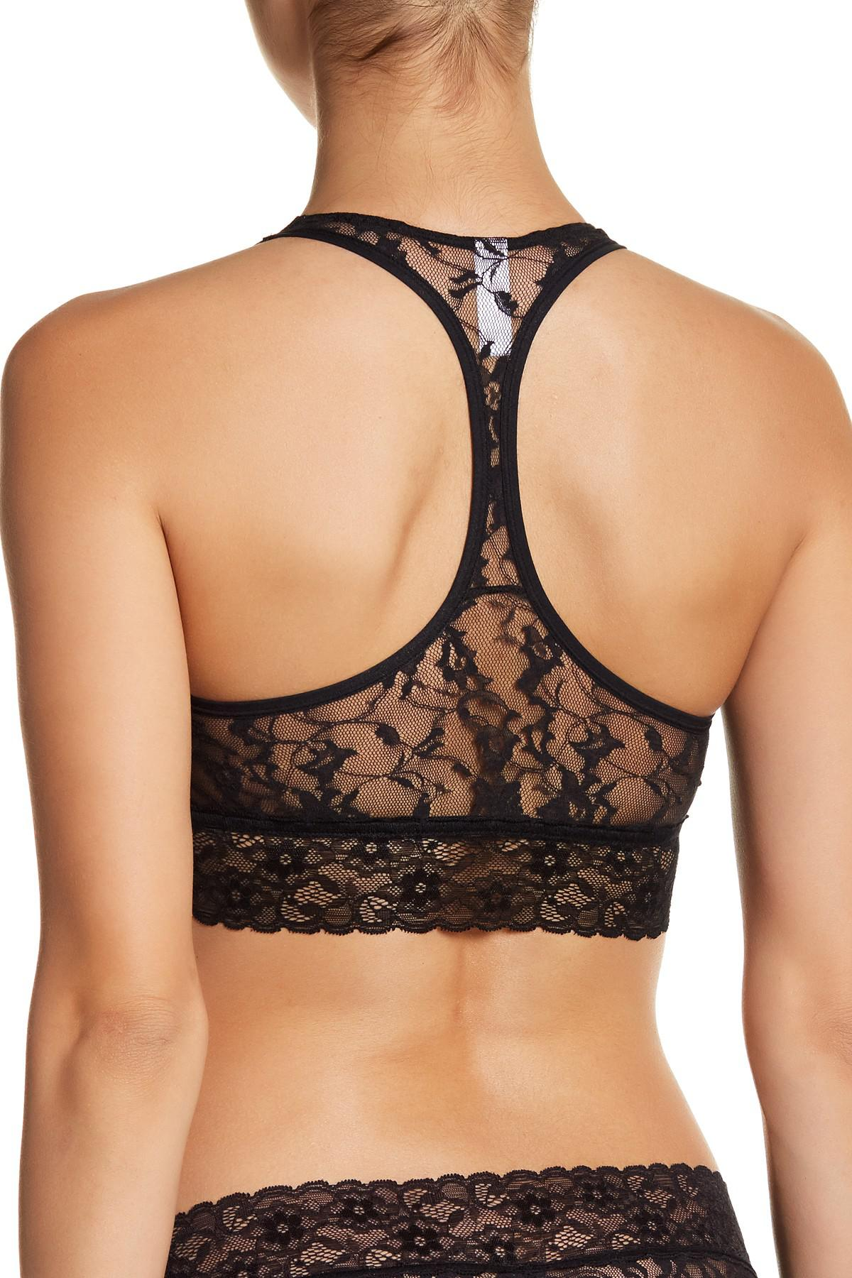 089739db7e1db DKNY - Black Signature Lace Bralette - Lyst. View fullscreen