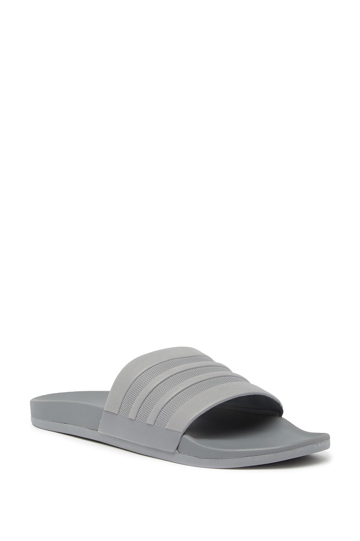 c4fa96026dd Lyst - adidas Adilette Cloudfoam Mono Sport Slide Sandal (men) in ...