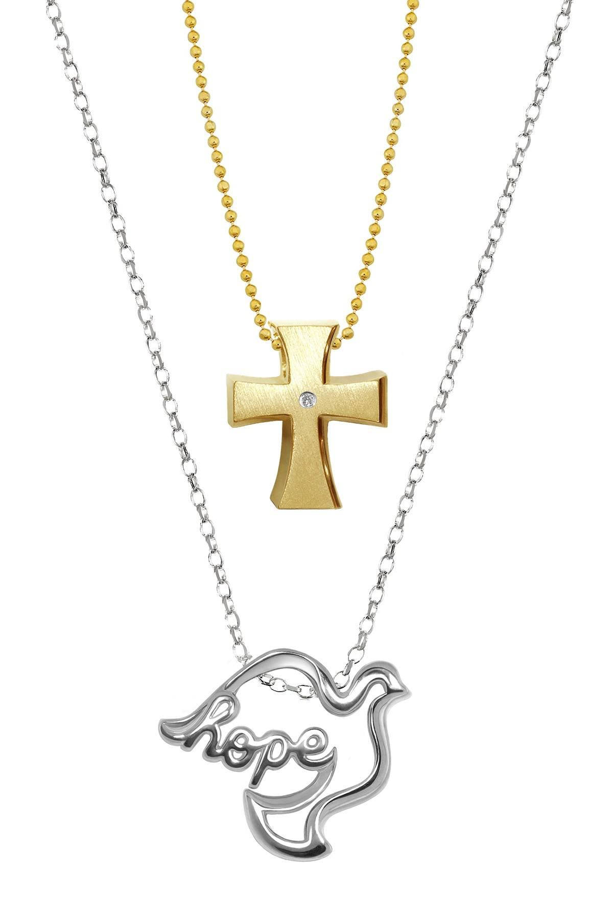 cart the pendant heart wishlist necklace catholic gold to dove and add company