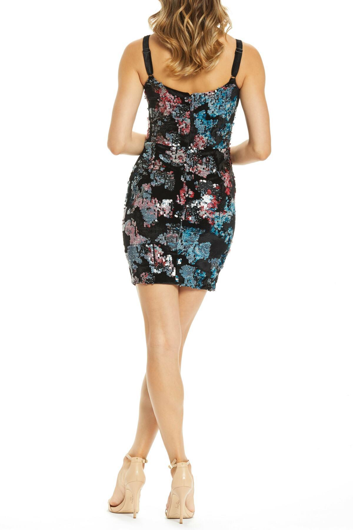 167f854dd30 Dress the Population Lindsay Demi Neckline Sheath (nordstrom ...