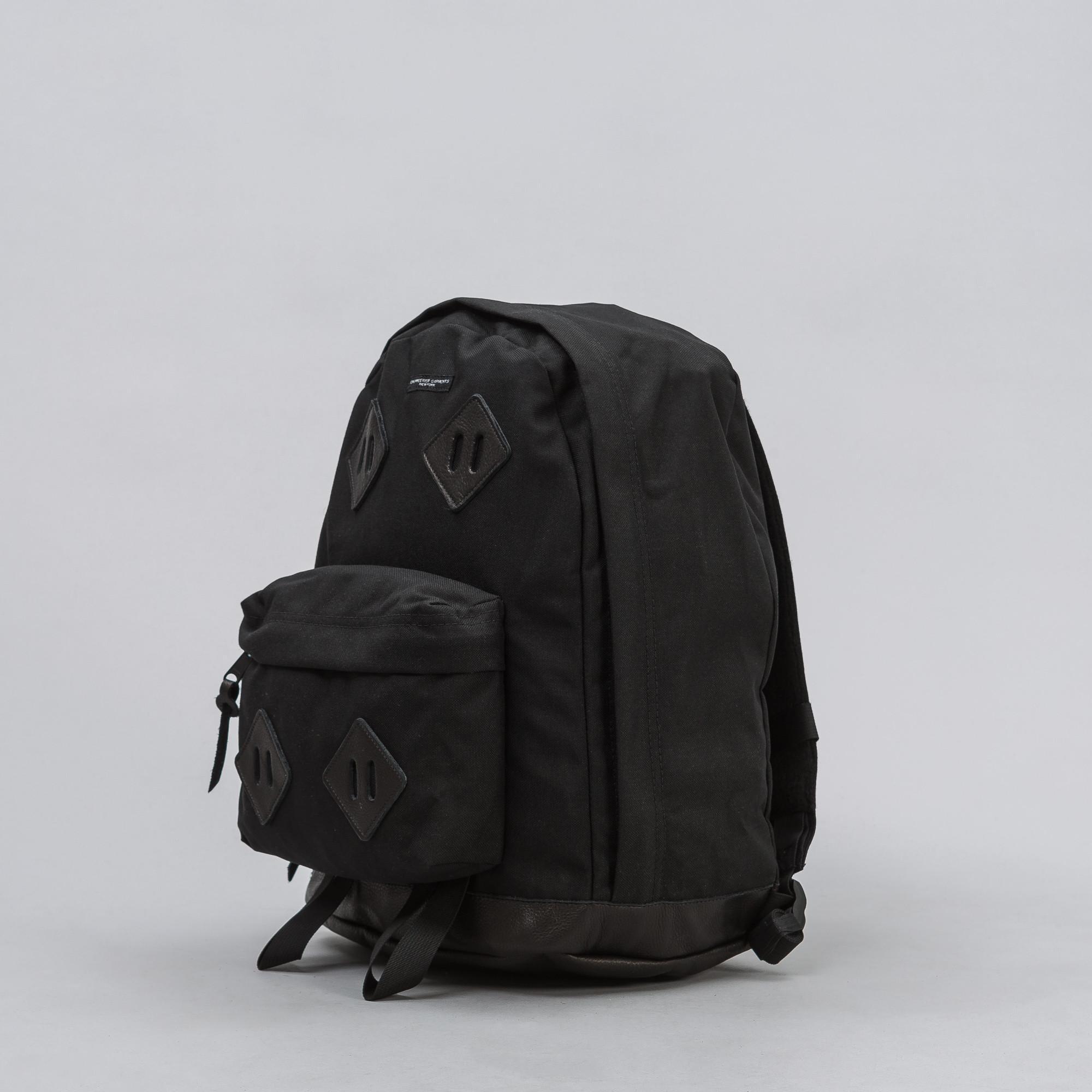4ef60de25e Engineered Garments - Black Leather-trimmed Cordura Backpack for Men - Lyst