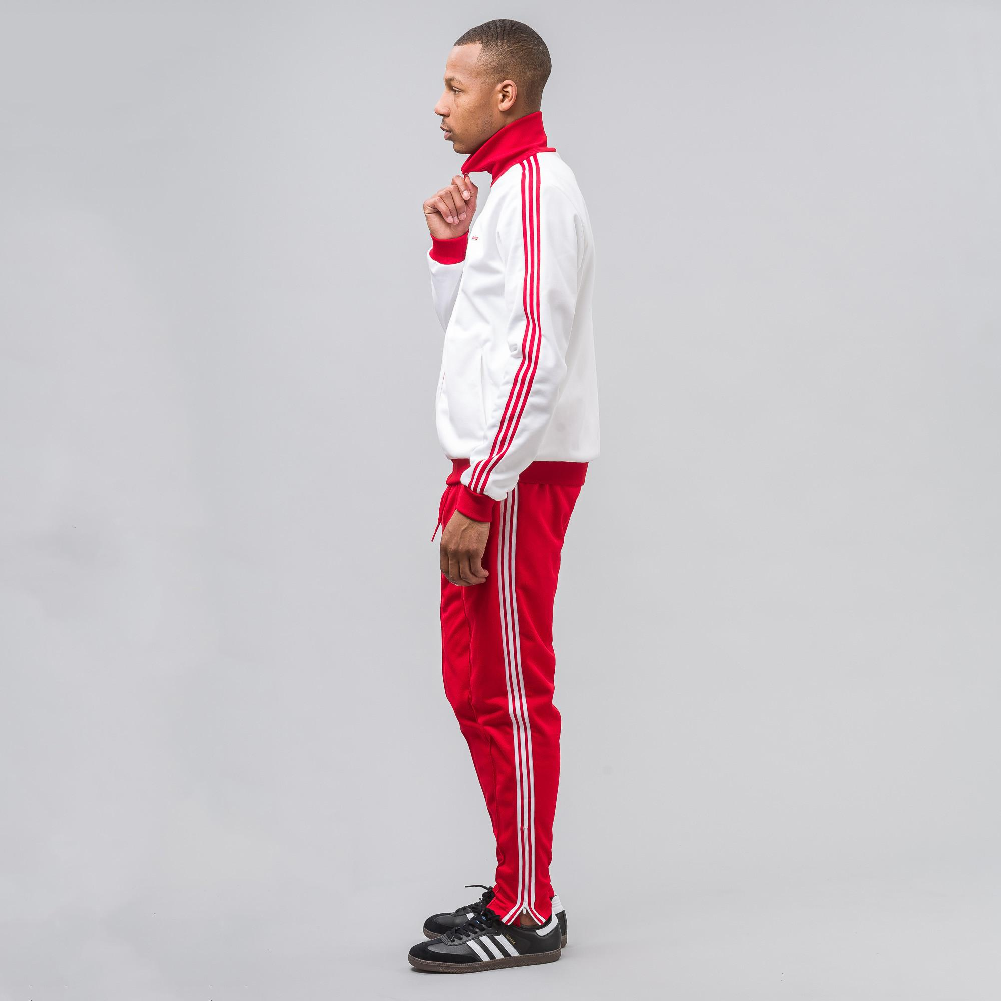 d06681780ce3 Lyst - adidas Originals Beckenbauer Mig Tracksuit in Red for Men