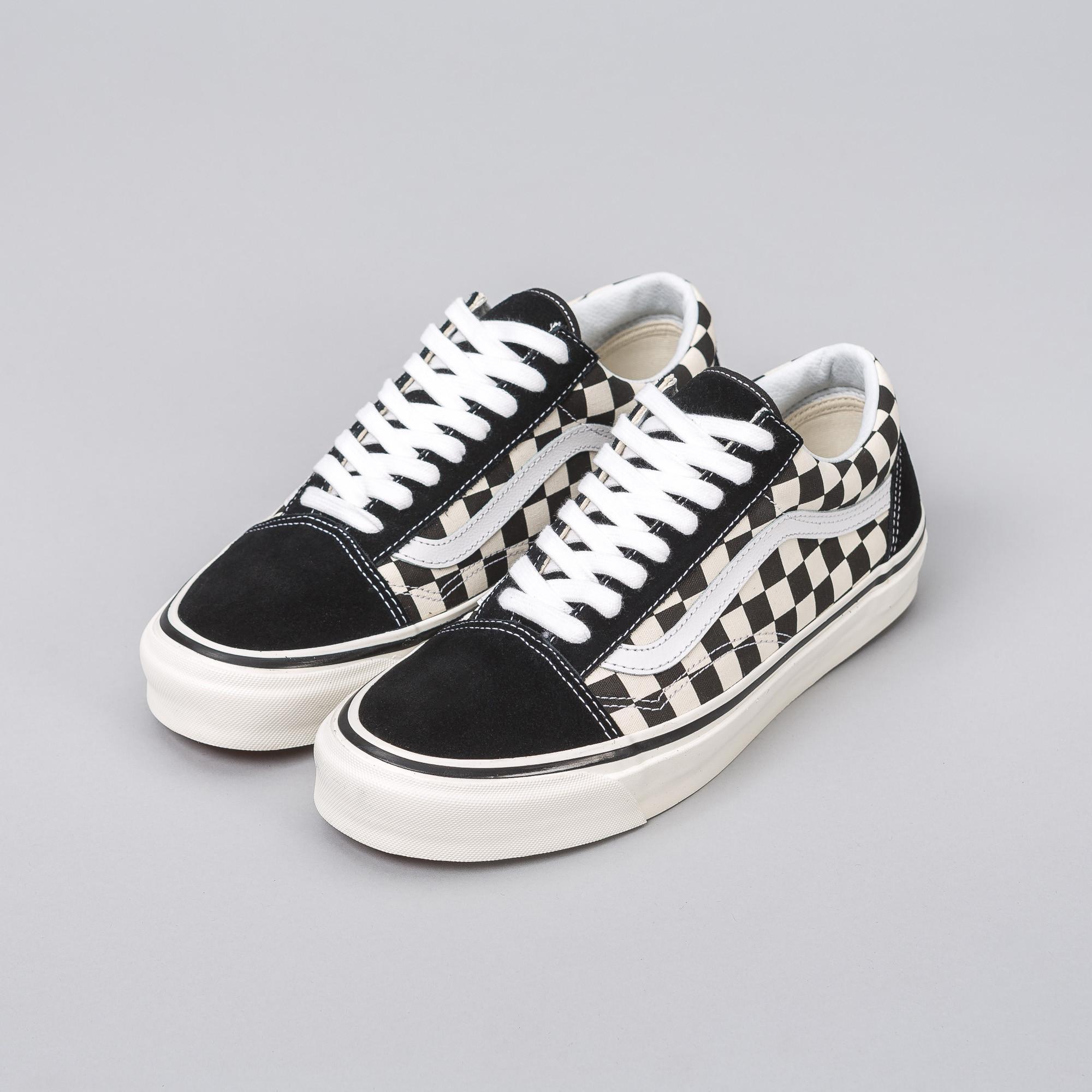 Lyst - Vans Old Skool 36 Dx Black Checkerboard for Men ff0879fc0