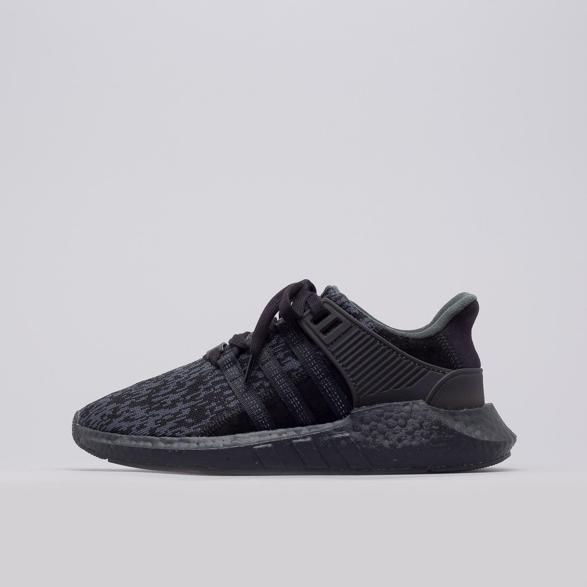 a92b5630d9e5 Lyst - adidas Eqt Support 93 17 Triple Black in Black for Men