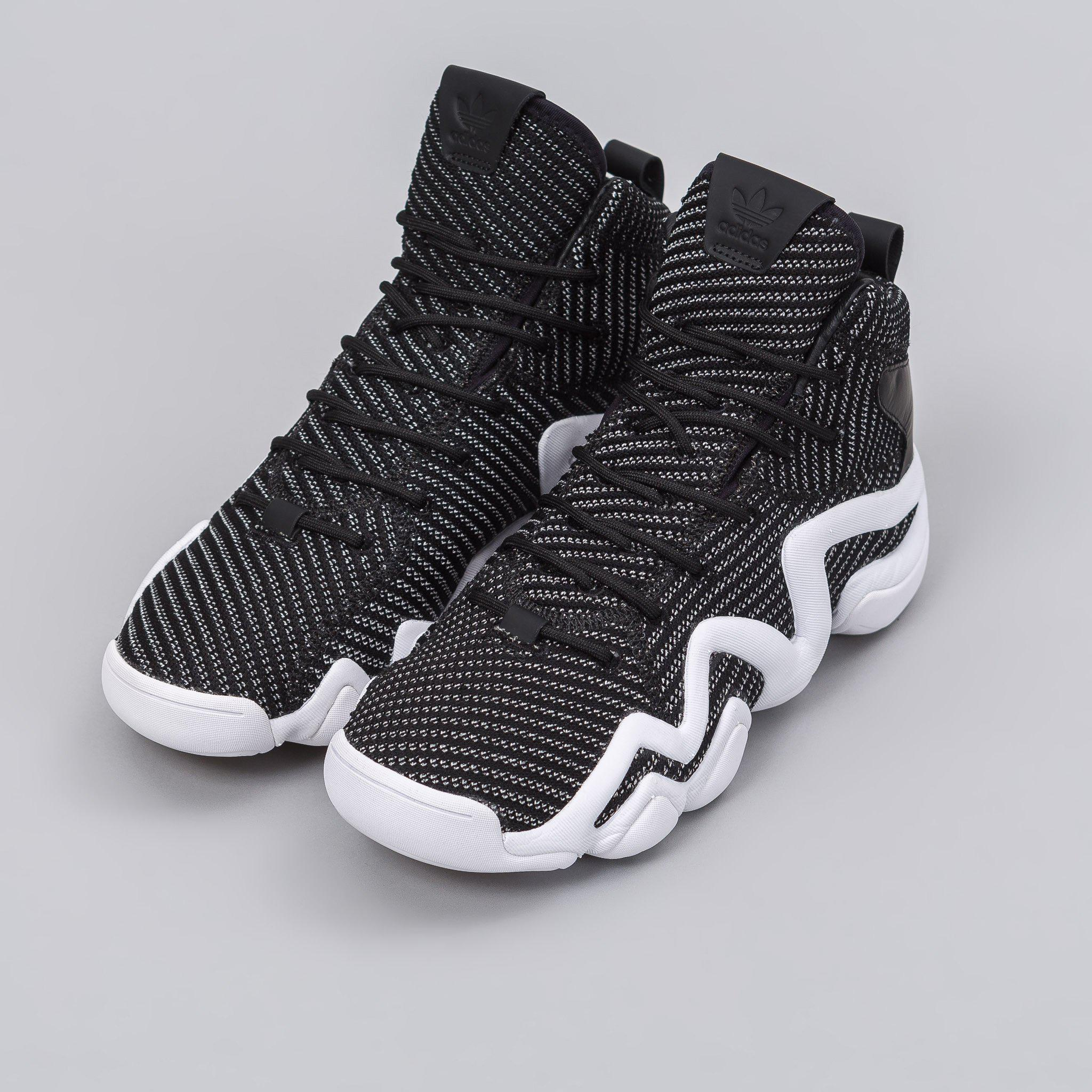 best website 9fb2f abcdd Lyst - adidas Originals Crazy 8 Adv Primeknit In Core Blacks