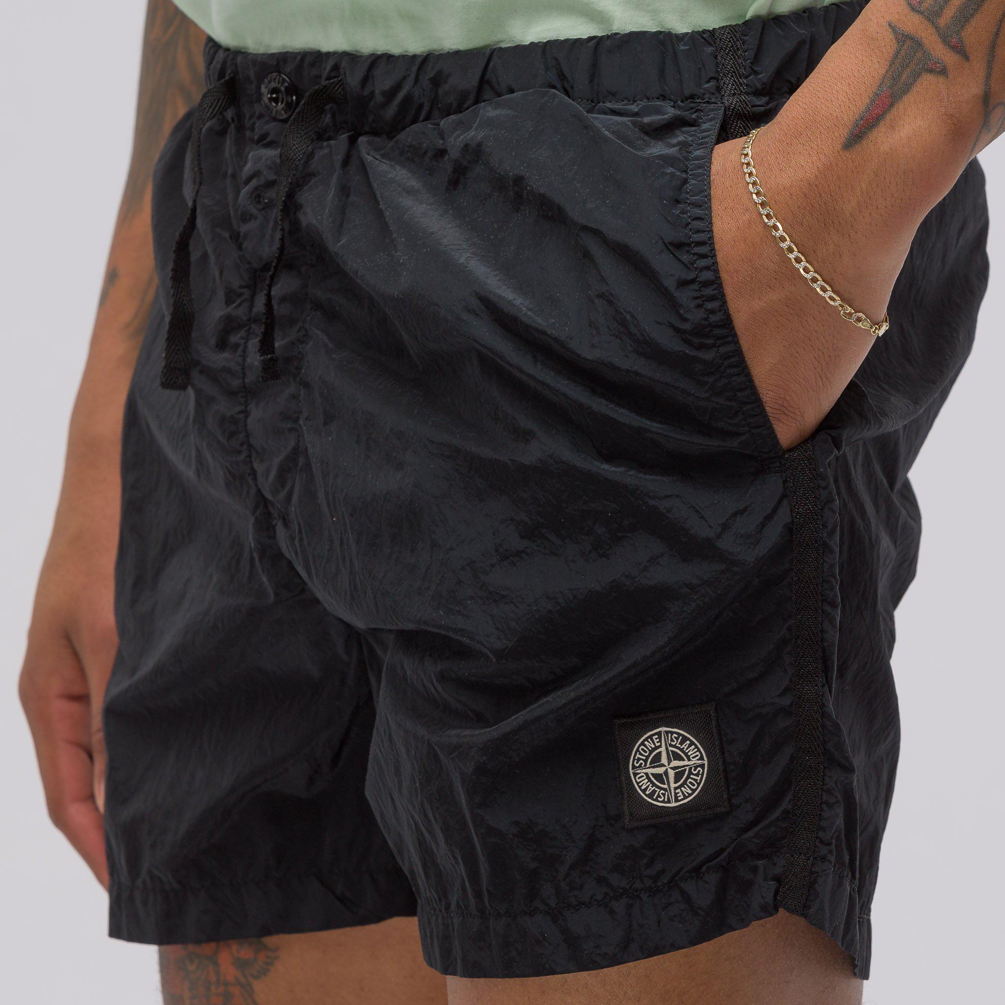 2d8c26d727 Stone Island B0643 Shorts In Black in Black for Men - Lyst