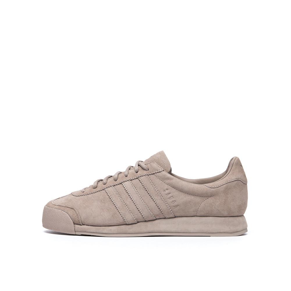 buy popular 6e326 48032 Lyst - adidas Originals Pigskin Samoa In Vapour Grey in Gray for Men