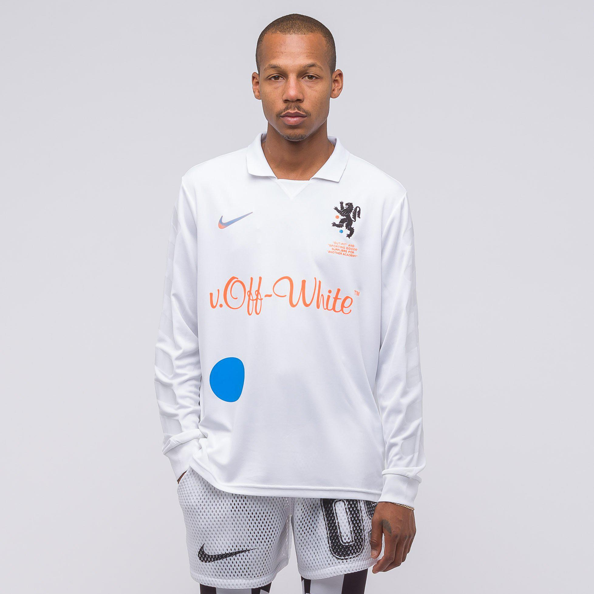 b4331f72c Nike X Off-white Home Football Jersey In White orange in White for ...