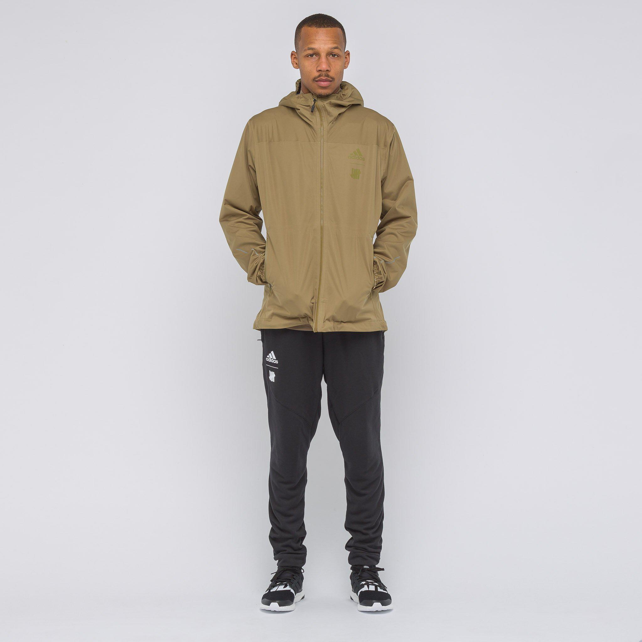 440b6dc43d34 Lyst - adidas X Undefeated 3l Goretex Jacket In Khaki in Natural for Men