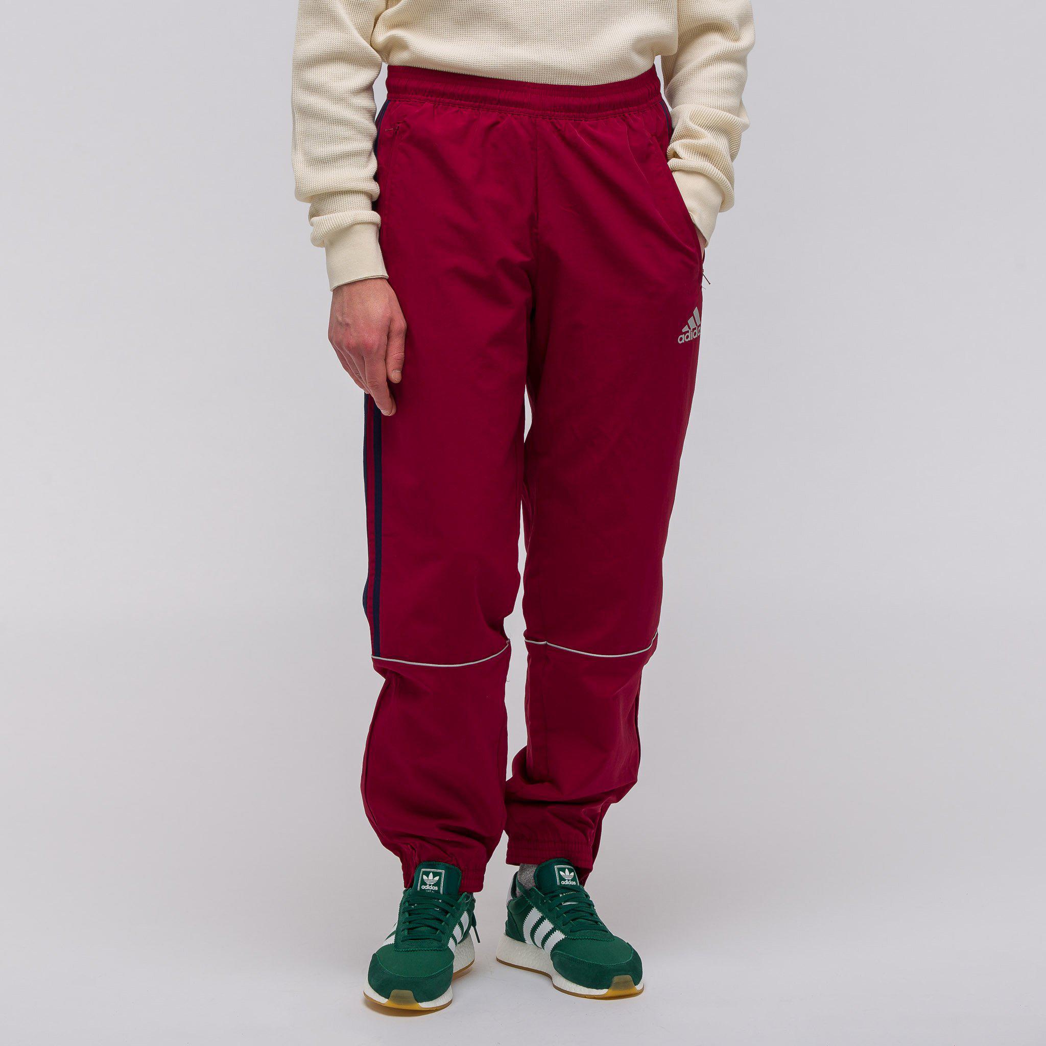 Lyst Gosha rubchinskiy x Adidas TRACK PANT en Borgoña en rojo para hombres