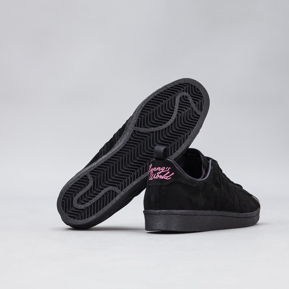 Lyst Huang adidas Originals x Eddie Huang Lyst Superstar 80 en Core Negro c27773