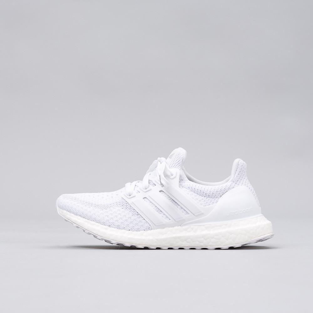 ec0d3dc3ee67b Lyst - adidas Originals Ultra Boost J In Triple White (youth) for Men