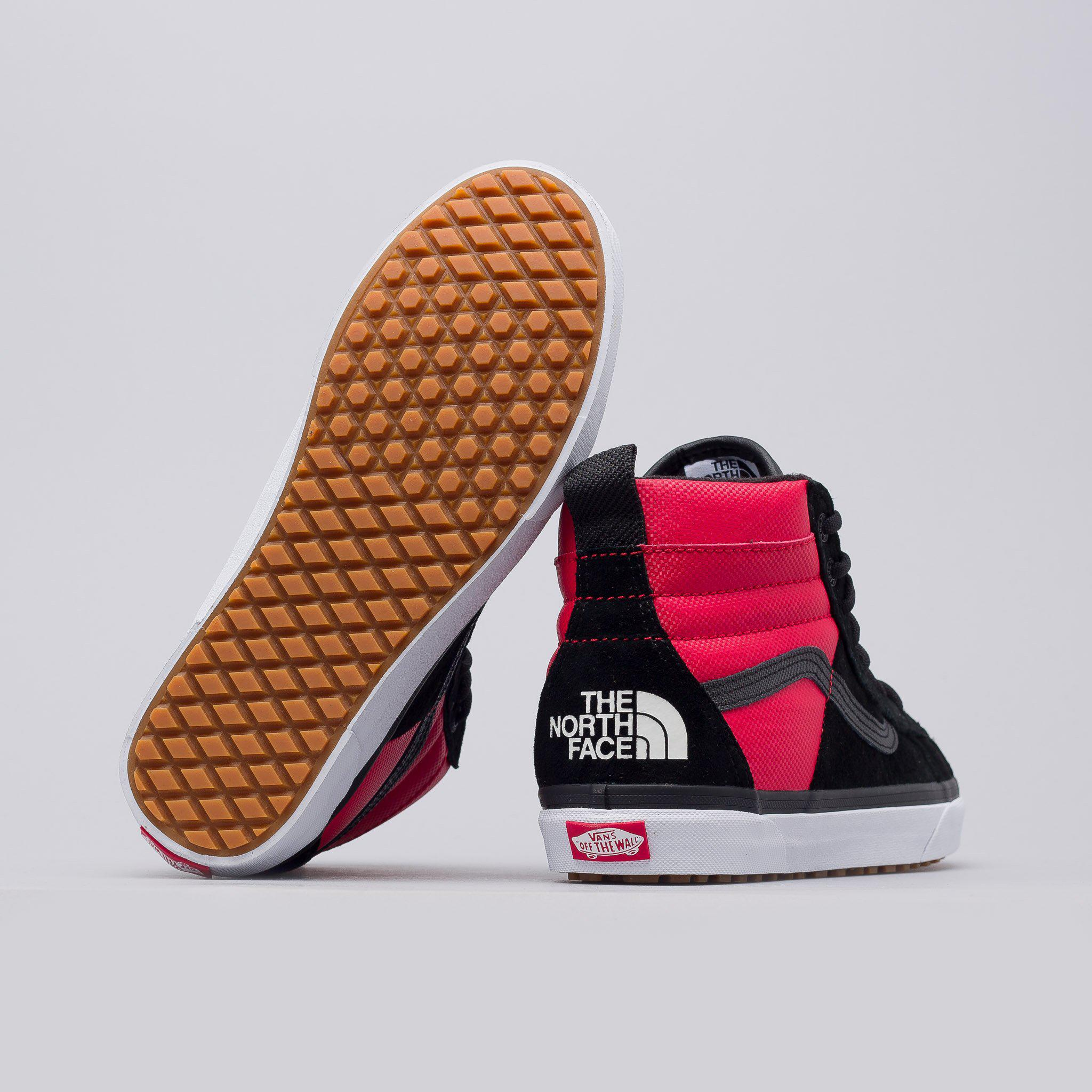 1728ca9f38c16a Lyst - Vans X The North Face Sk8-hi 46 Mte Dx In Red black in Red ...