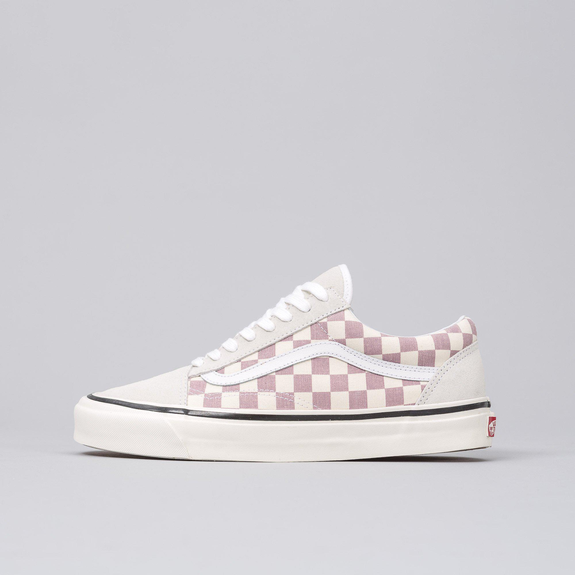 Lyst - Vans Old Skool 36 Dx Anaheim Factory In Purple Checkerboard ... cf1f7cf12