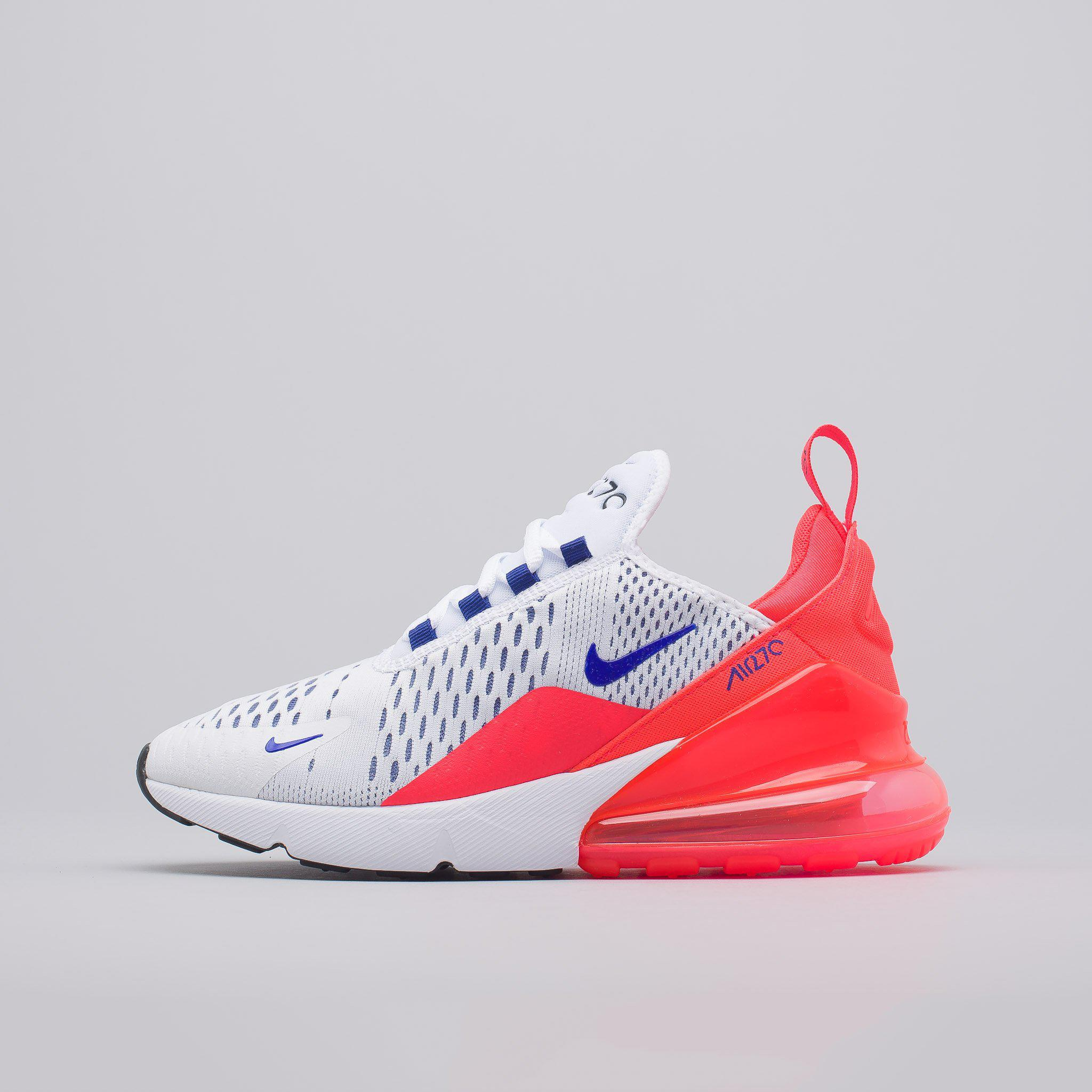 Lyst - Nike Women s Air Max 270 In White ultramarine in White for Men c354452d15f1