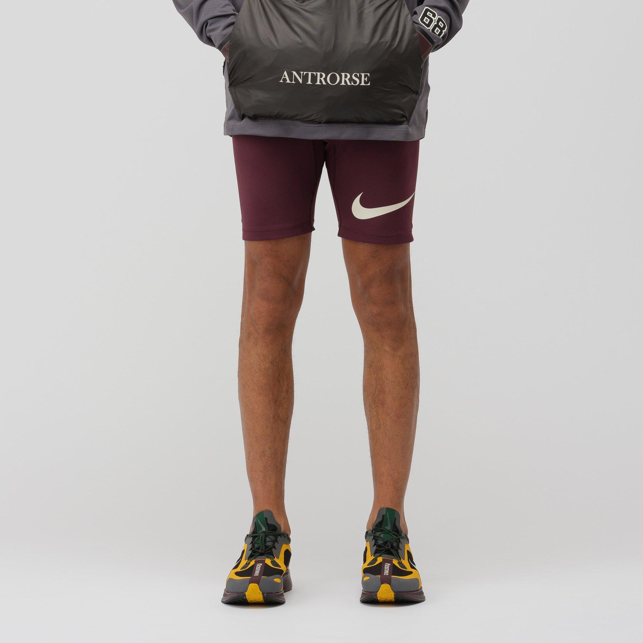 d38fe9935 Nike Gyakusou Techknit Shorts In Deep Burgundy/iron Grey in Gray for ...
