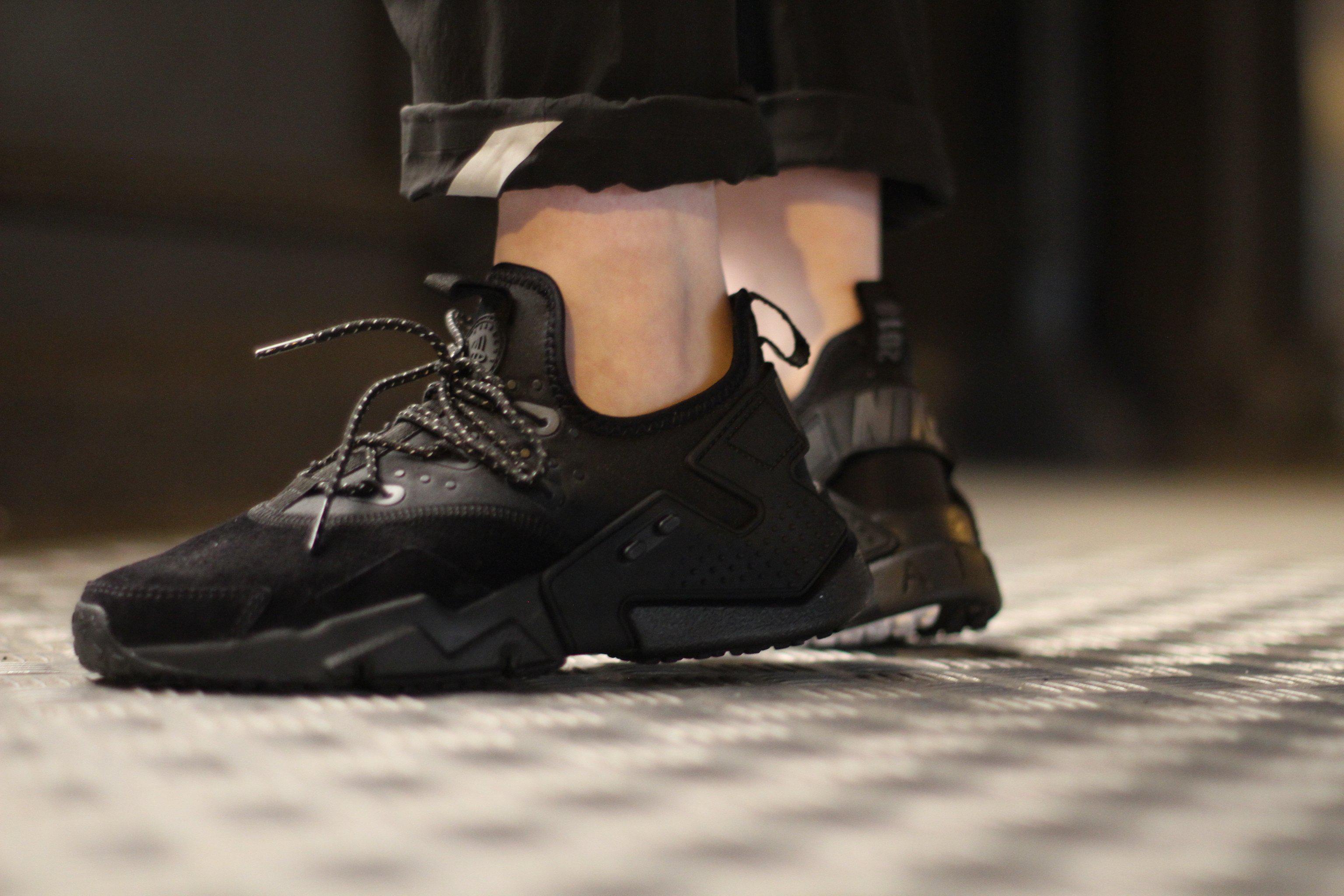 2f8df6789b45 Lyst - Nike Air Huarache Drift Premium in Black for Men