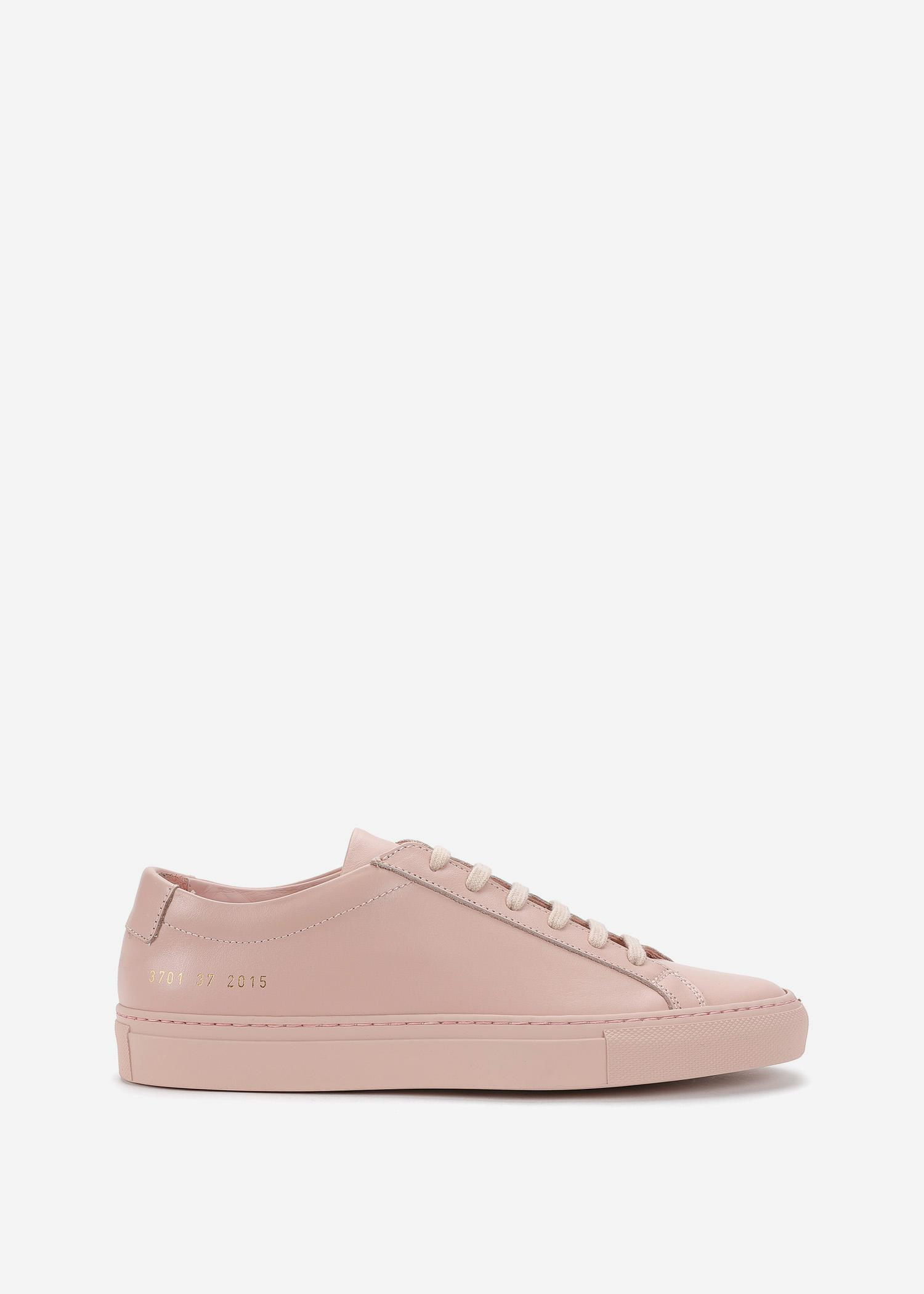 953acefef41 Common Projects Women s Sneakers Original Achilles Low in Pink ...
